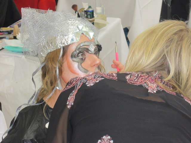 Award-winning look; 3rd place at the Art of Make-up Competition, Olympia Beauty, London 2014