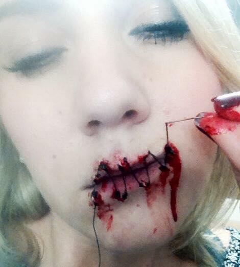 'Speak no evil' special effects make-up