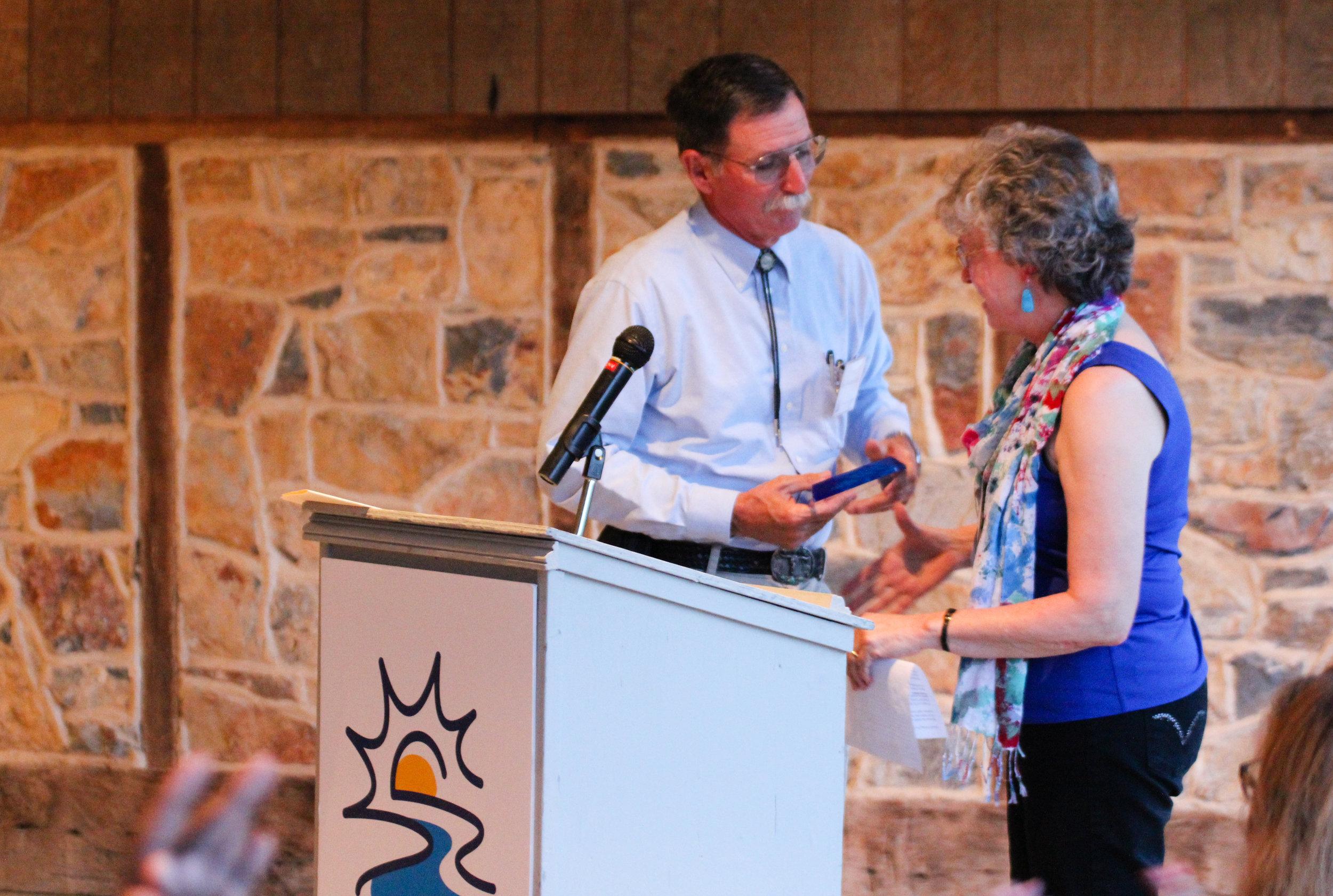 Joy Oaks presenting to Rev. Shelton Miles.jpg