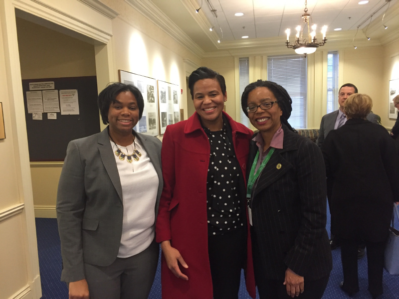 Tamara Toles O'Laughlin, Keisha Pollack Porter and Delegate Robbyn Lewis all provided testimony in support of the HB1632 bill.