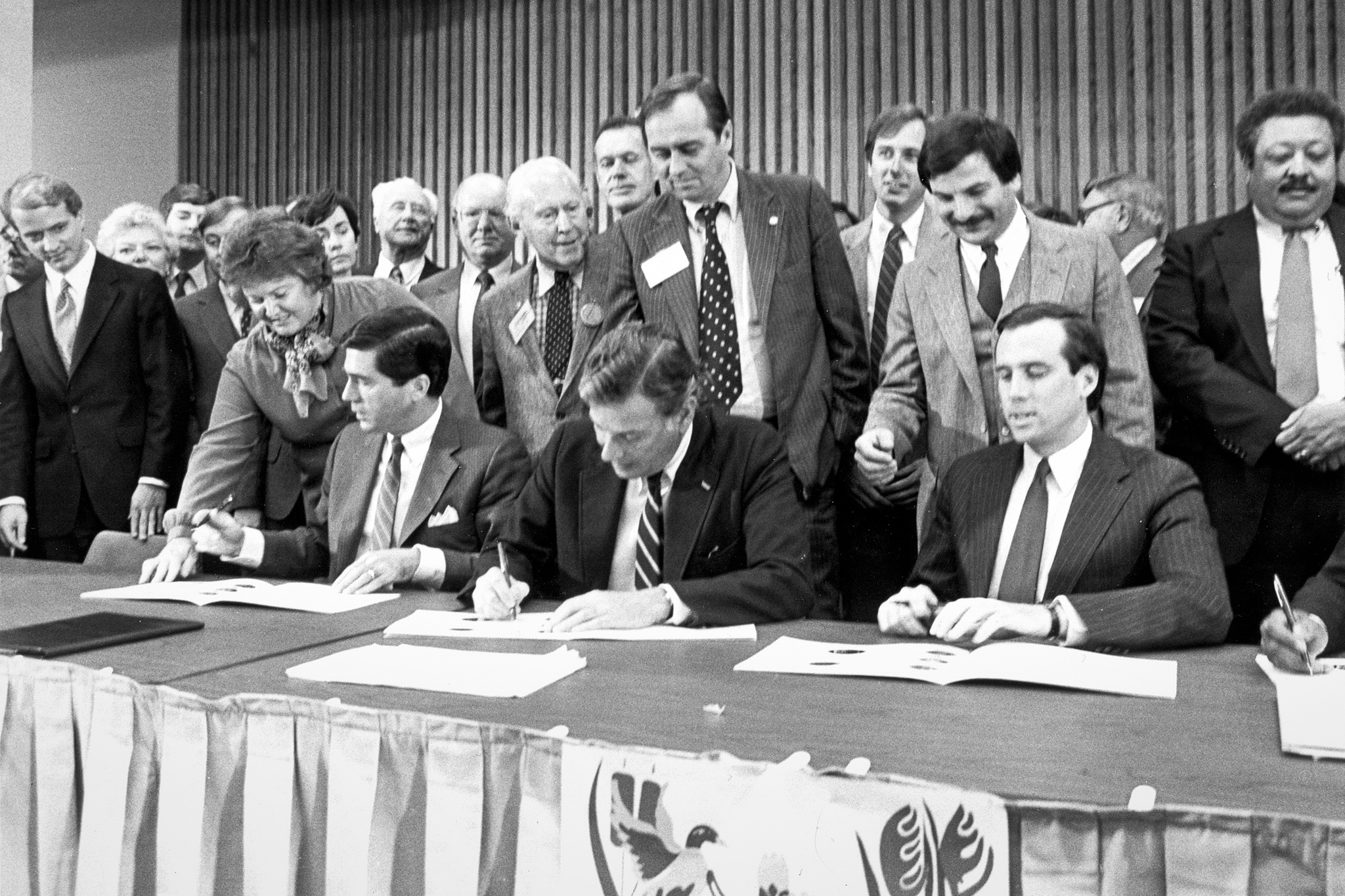 1983 Chesapeake Bay Agreement. Photo: Chesapeake Bay Program