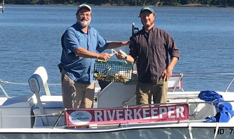 Jeff Holland and Jesse Iliff (Photo courtesy of Arundel Rivers Federation)