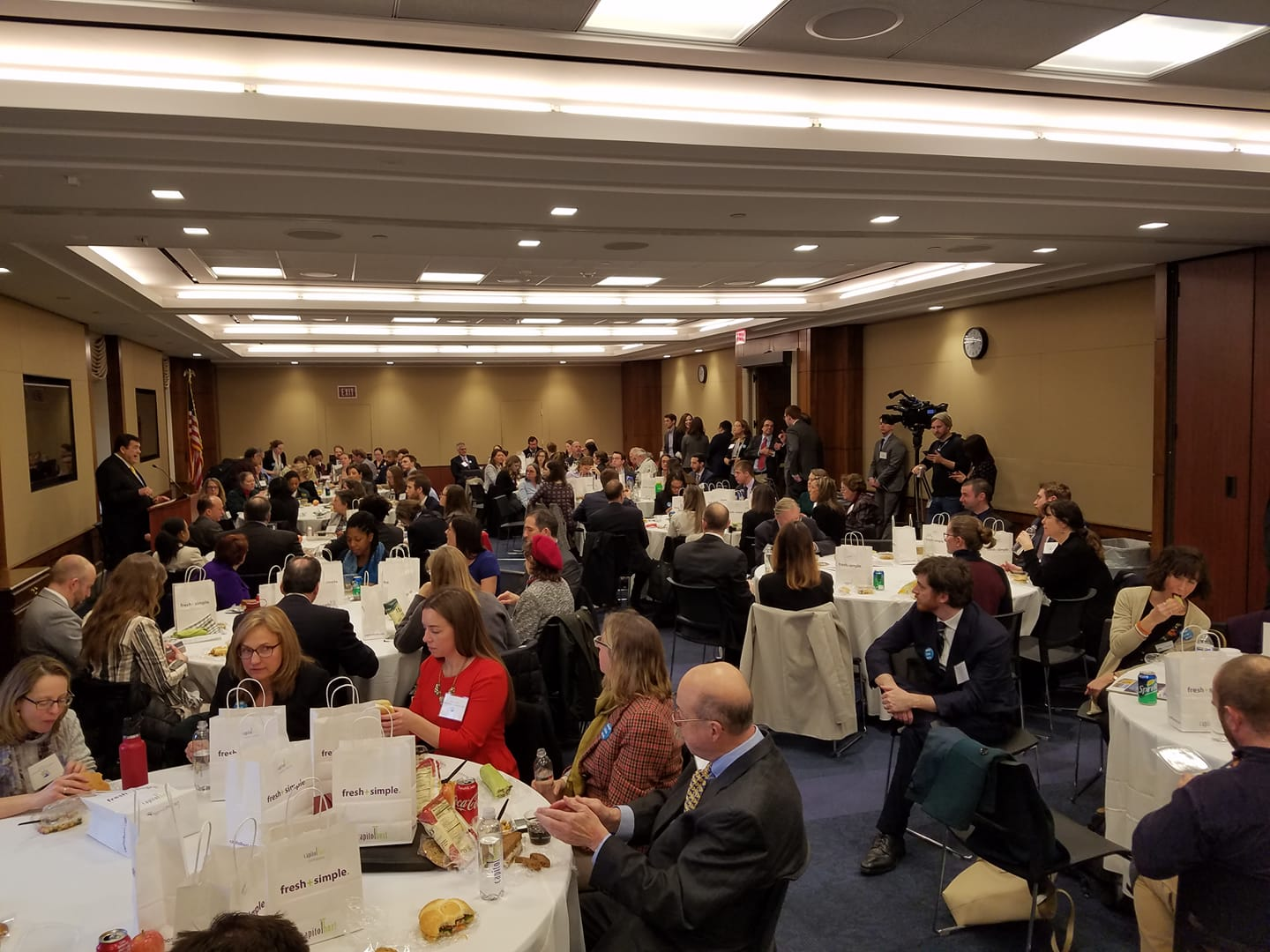 Coalition lunch briefing with members of Congress