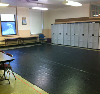 Our rehearsal space in South Philadelphia