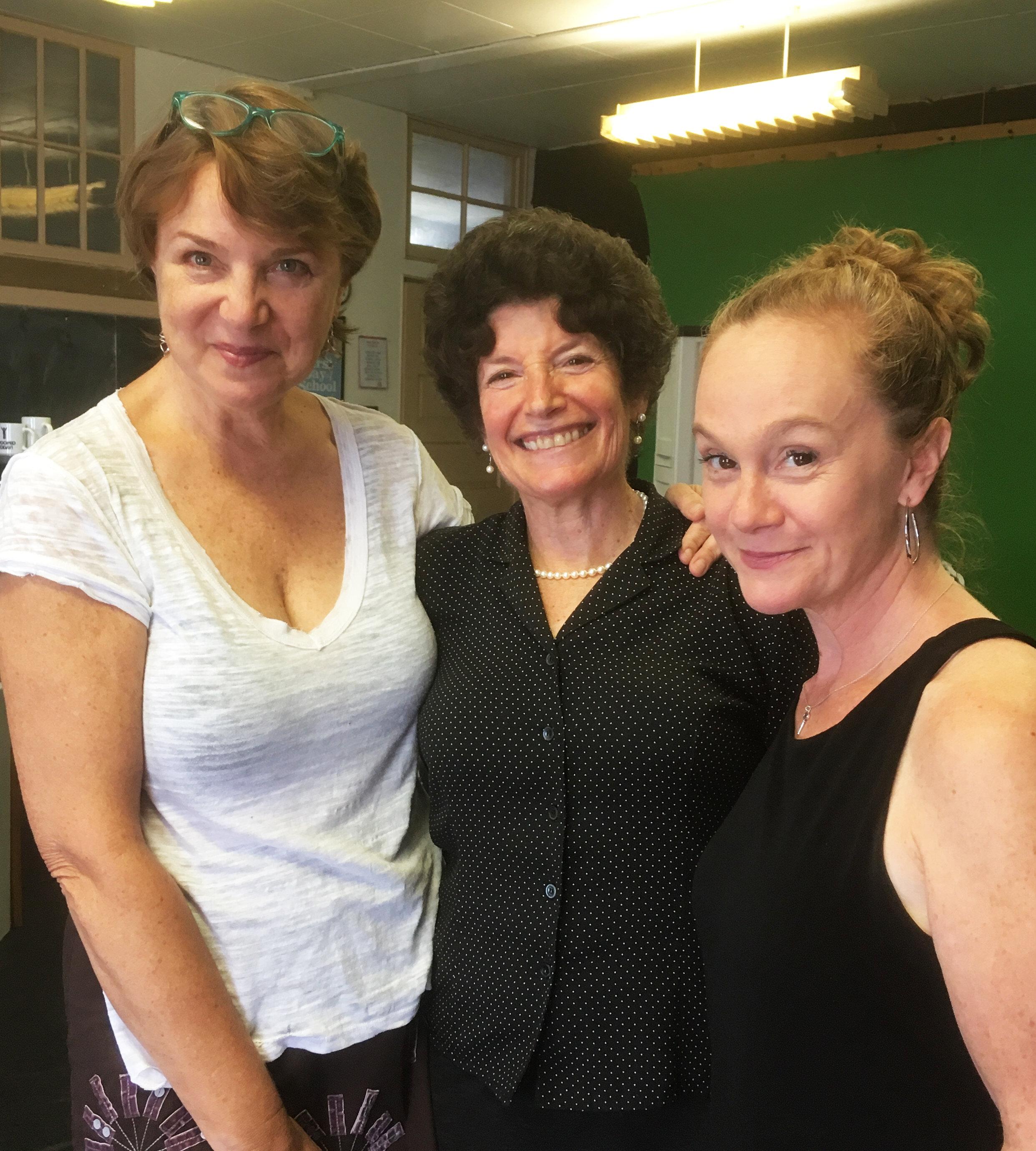 (l-r) Grace Gonglewski, Harriet Power, and Jennifer Childs