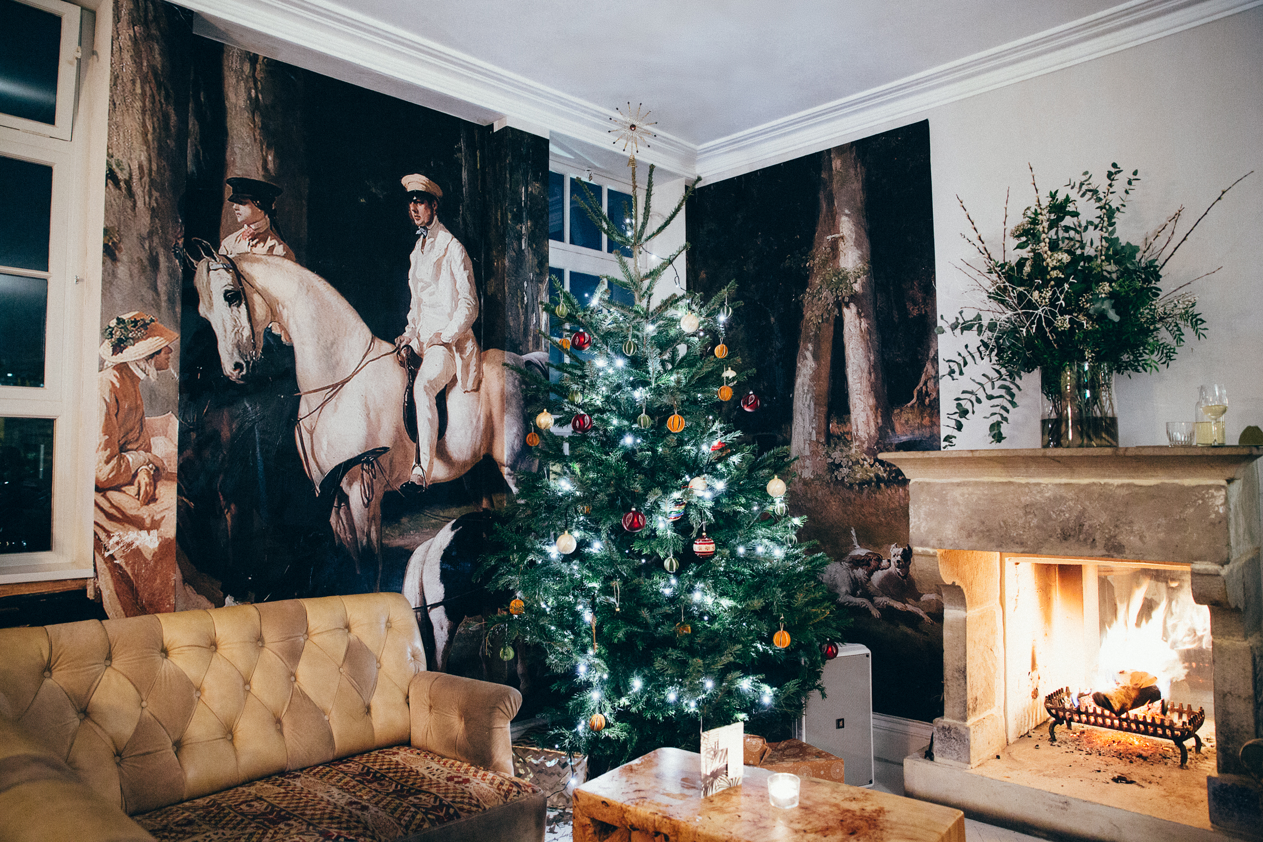Christmas parties for businesses in Clerkenwell at B&H Buildings in London