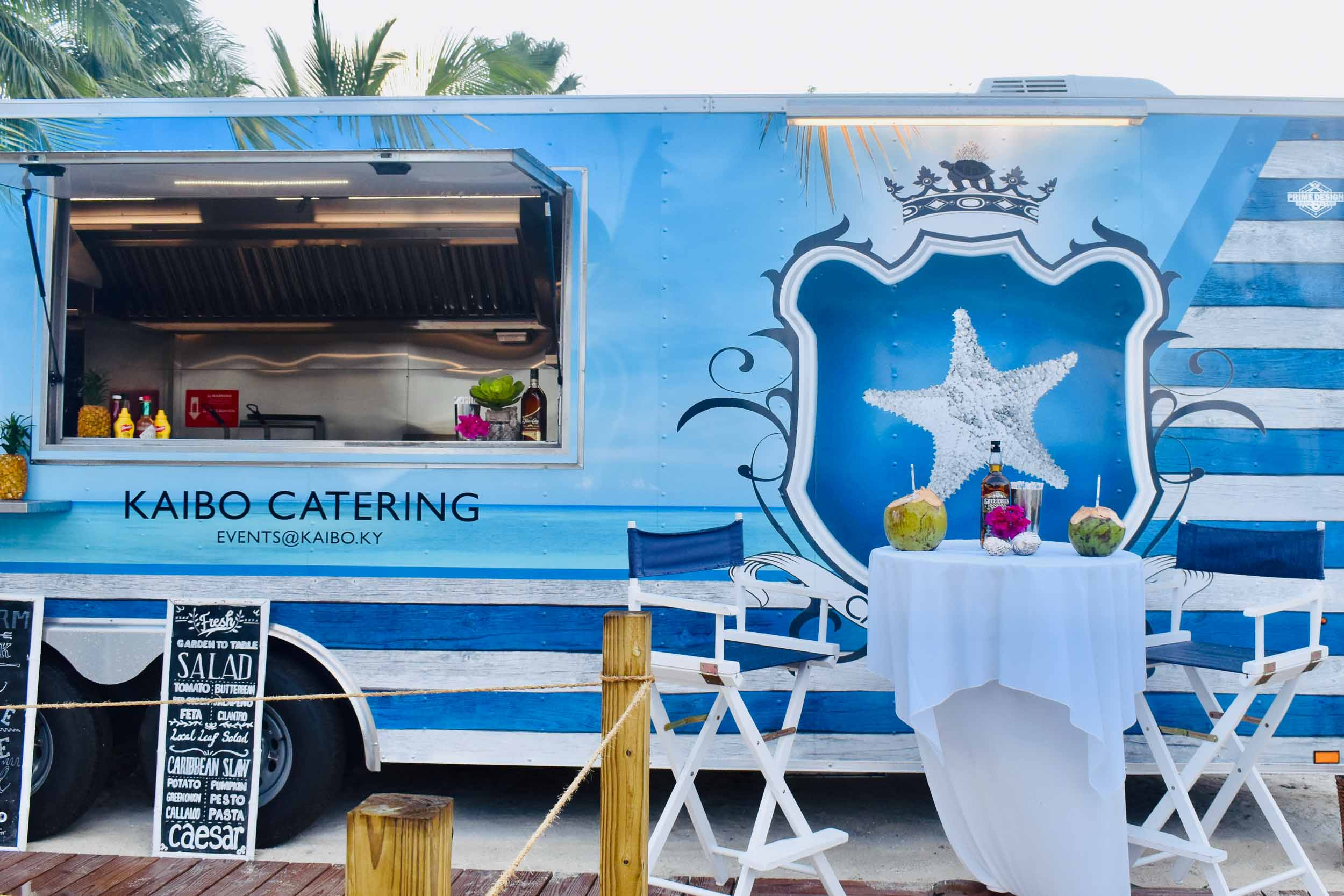 Kaibo's new food truck
