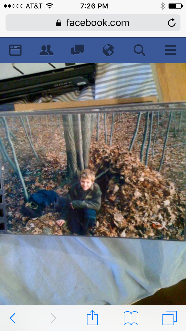 One of my first debris shelters as a kid. I slept in shelters just like this on and off for two years on this property in northern CT.