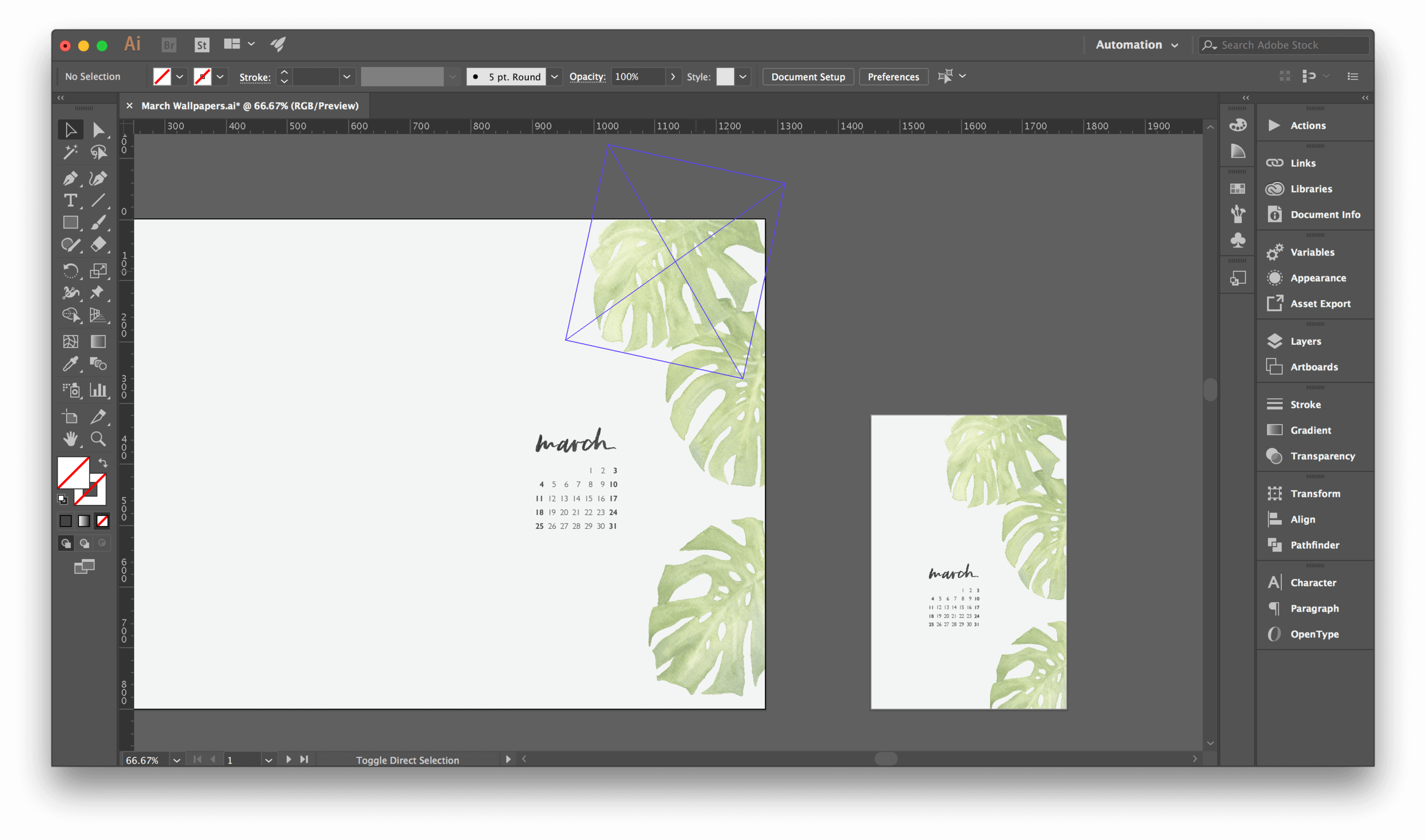 Design Digital Desktop Wallpaper