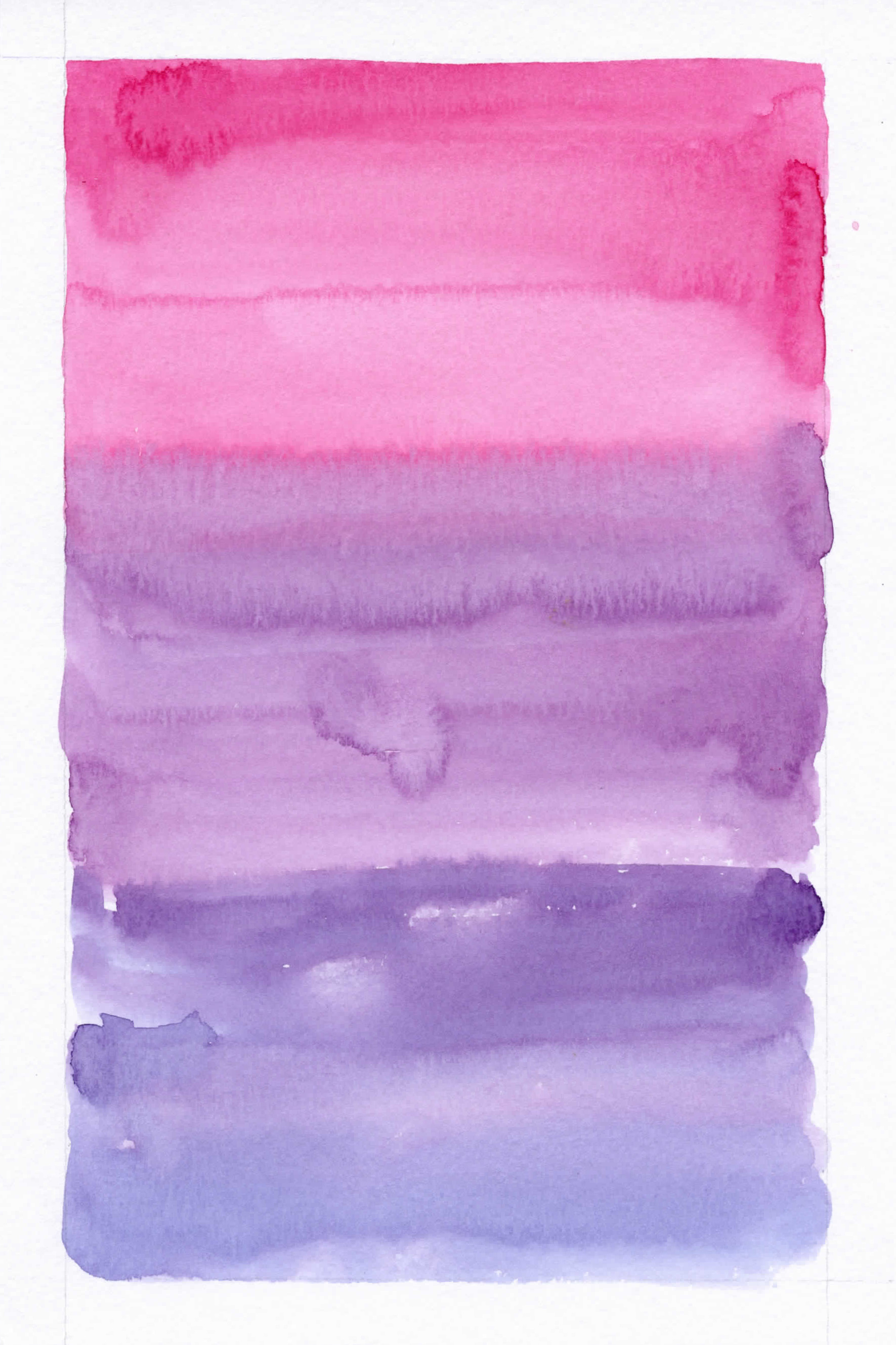 Pink and Purple Watercolor Background