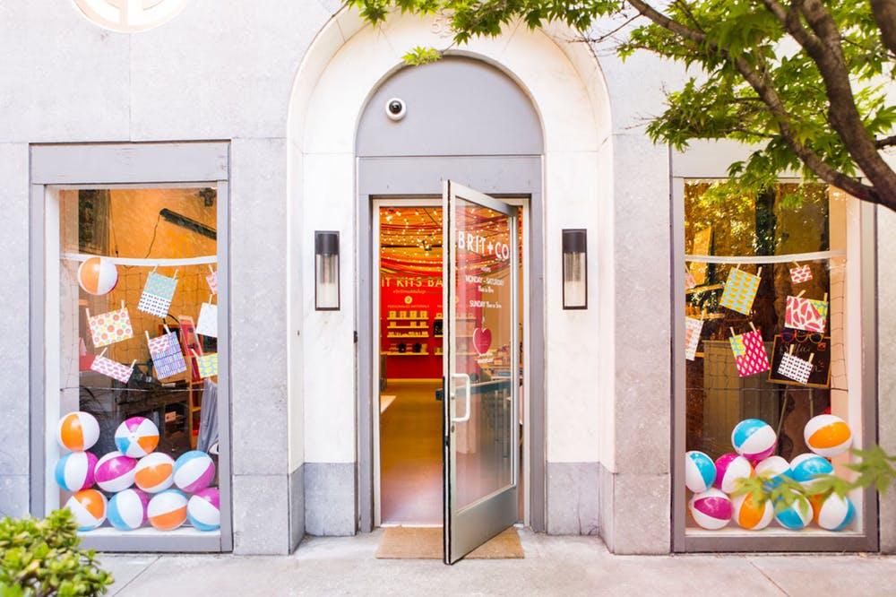 Brit+Co Office Entrance // Photo Credit: Brit+Co