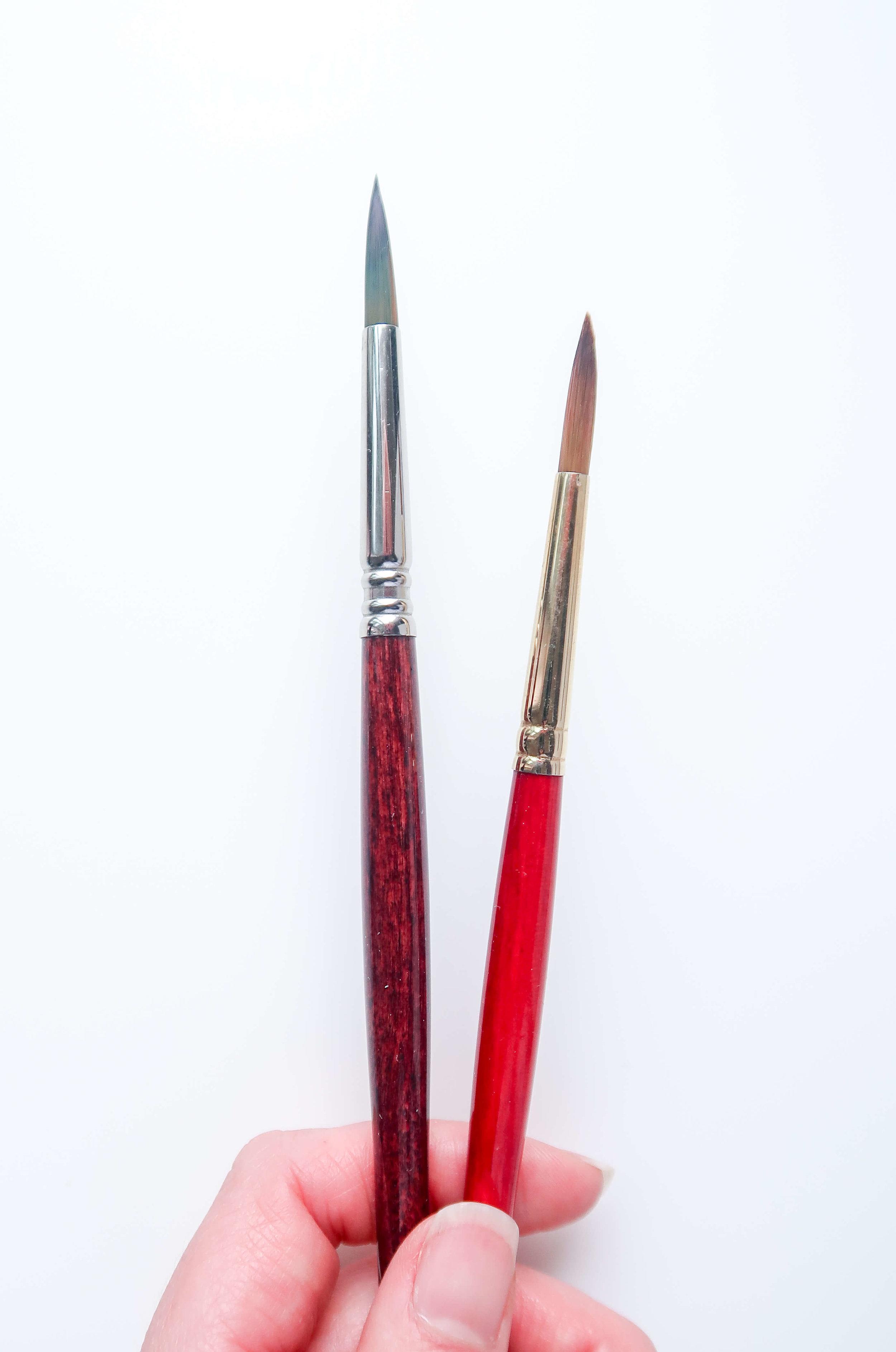 Beginner Watercolor Brushes