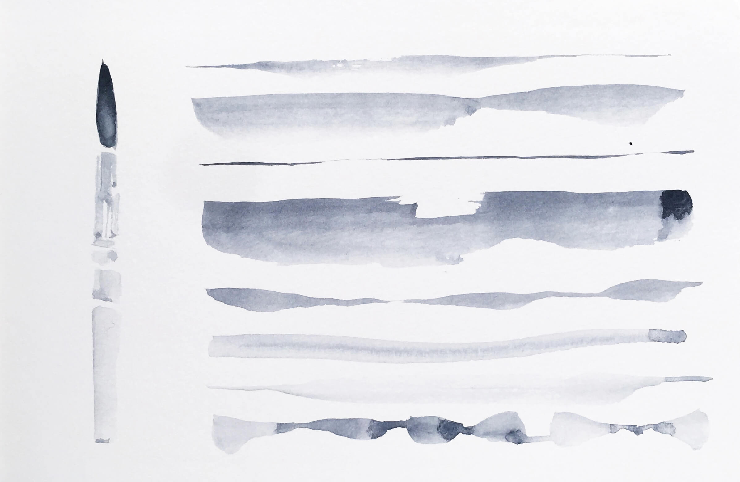 Watercolor Brushstrokes