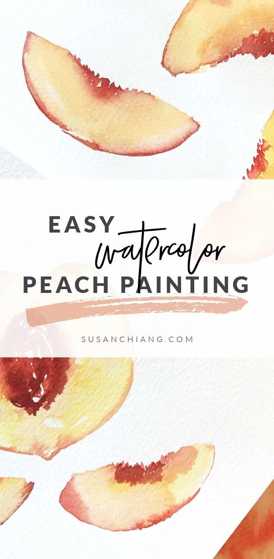 Easy Watercolor Peach Painting_Pinterest.jpg