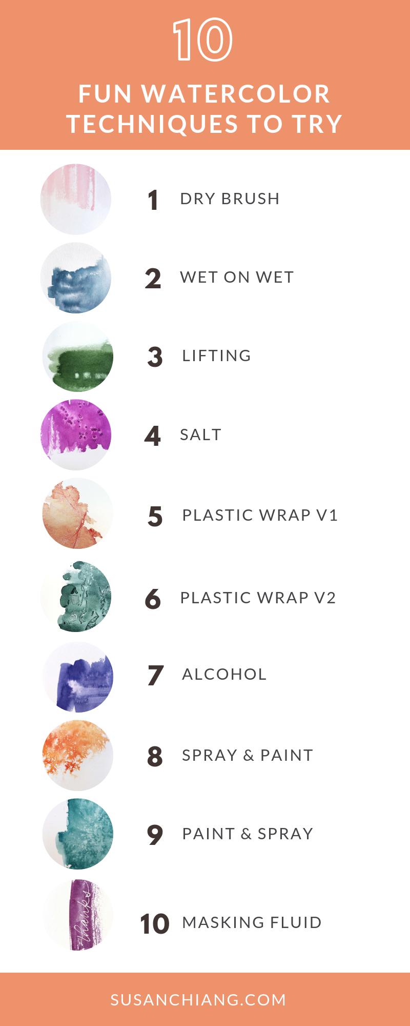 10 Fun Watercolor Techniques.png
