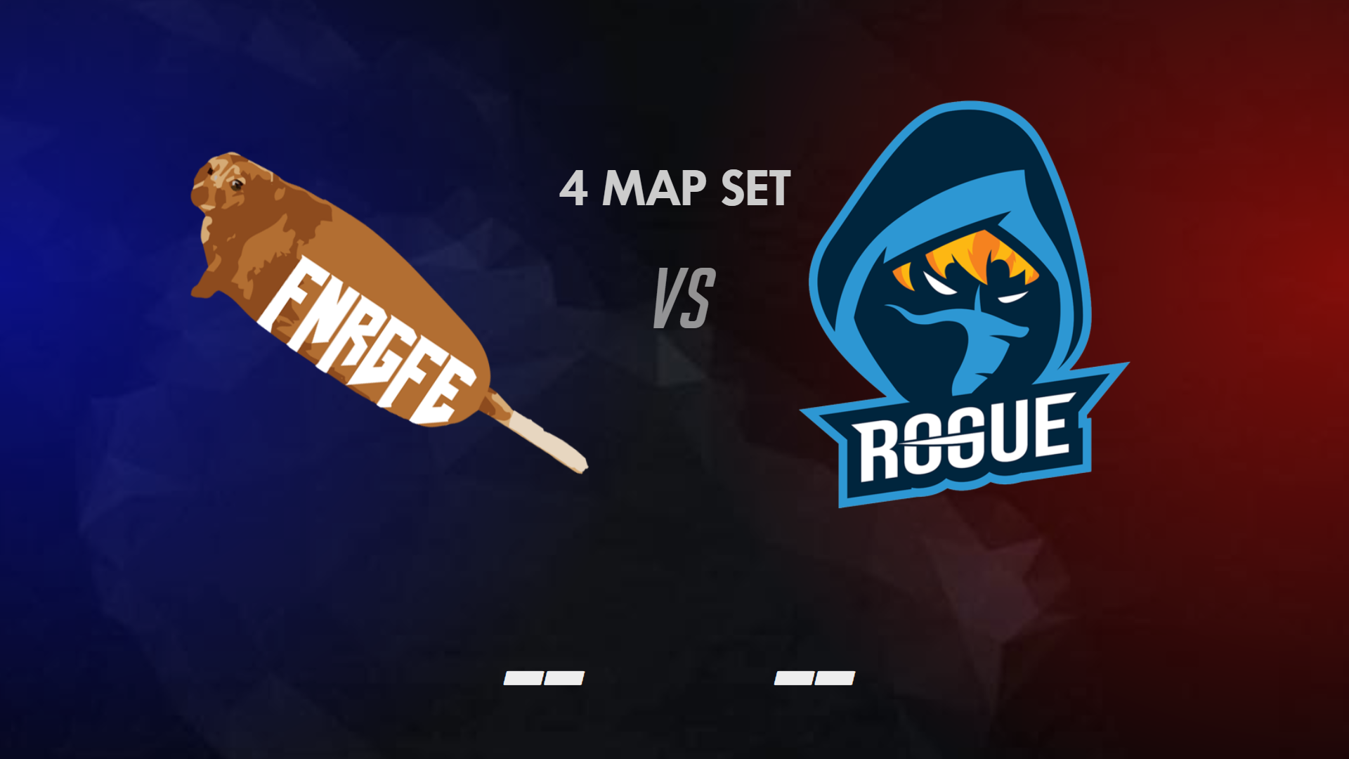 FNRGFE have played very closely in their match-ups.