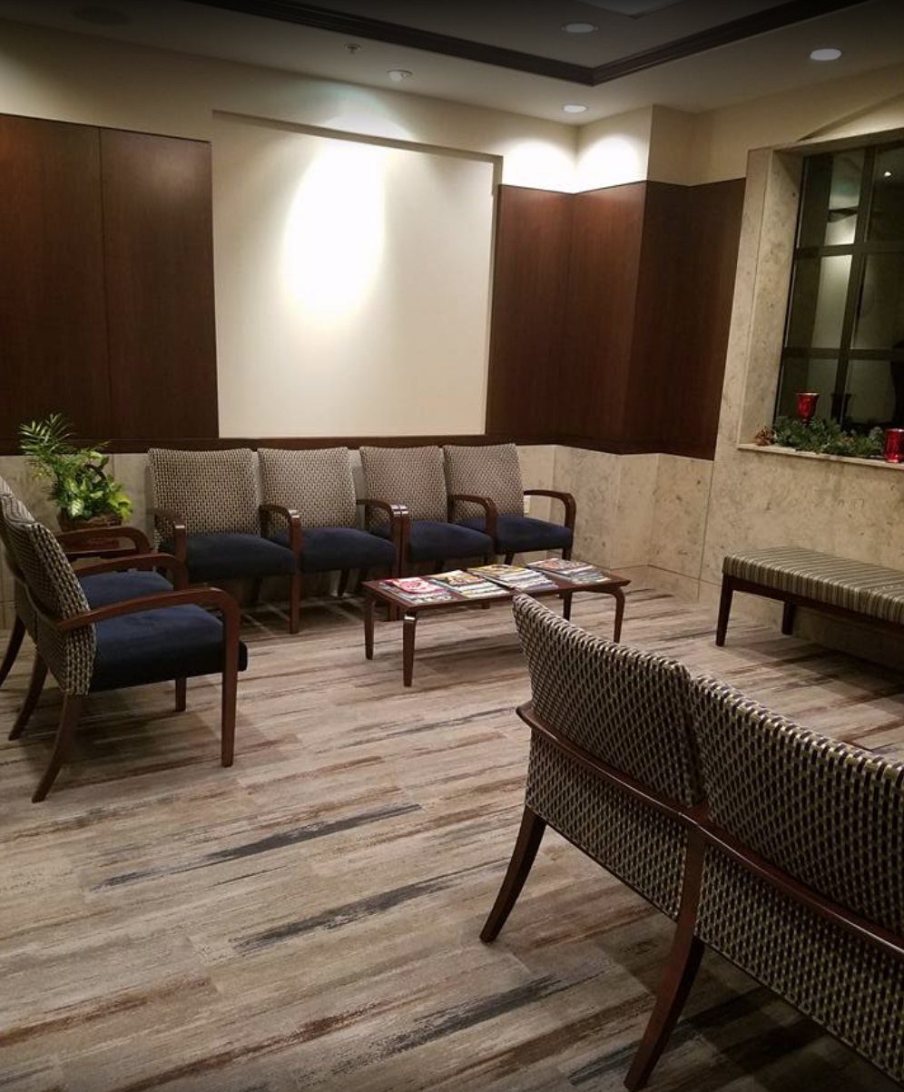 another angle of waiting room at Criscione Family Dental