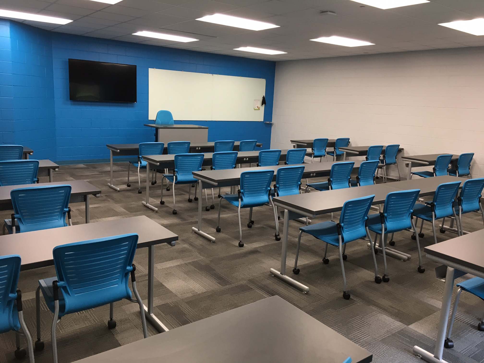 Jacksonville State University - Active Learning Table Install Pic 2.JPG