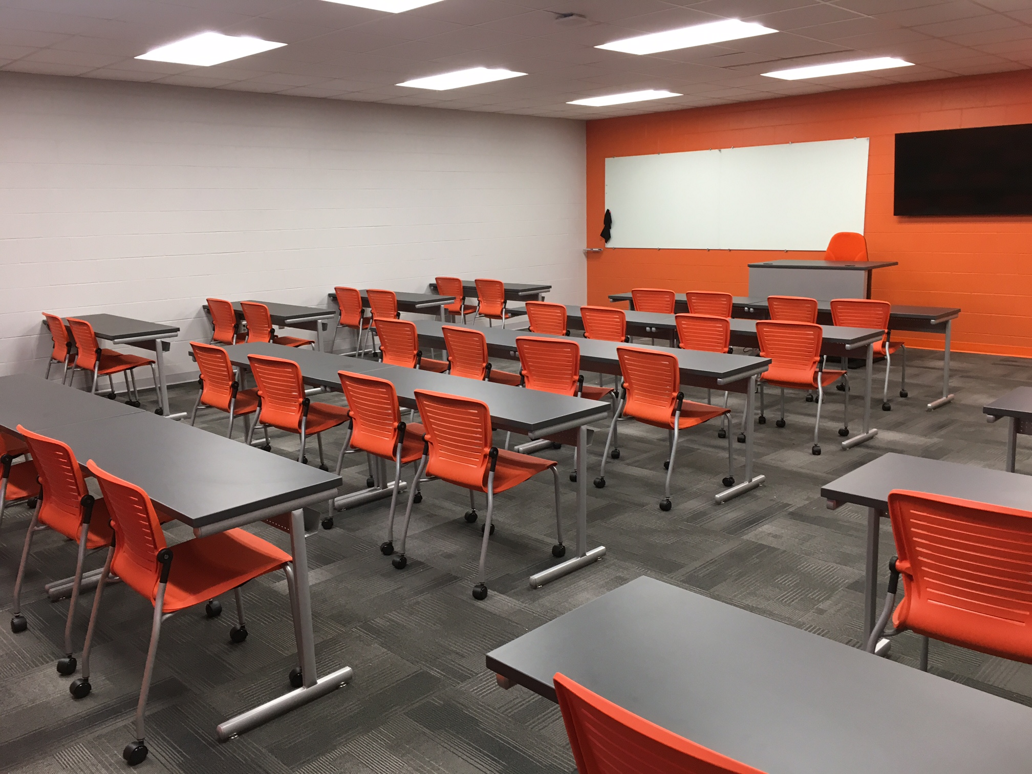Jacksonville State University - Active Learning Table Install Pic 8.JPG