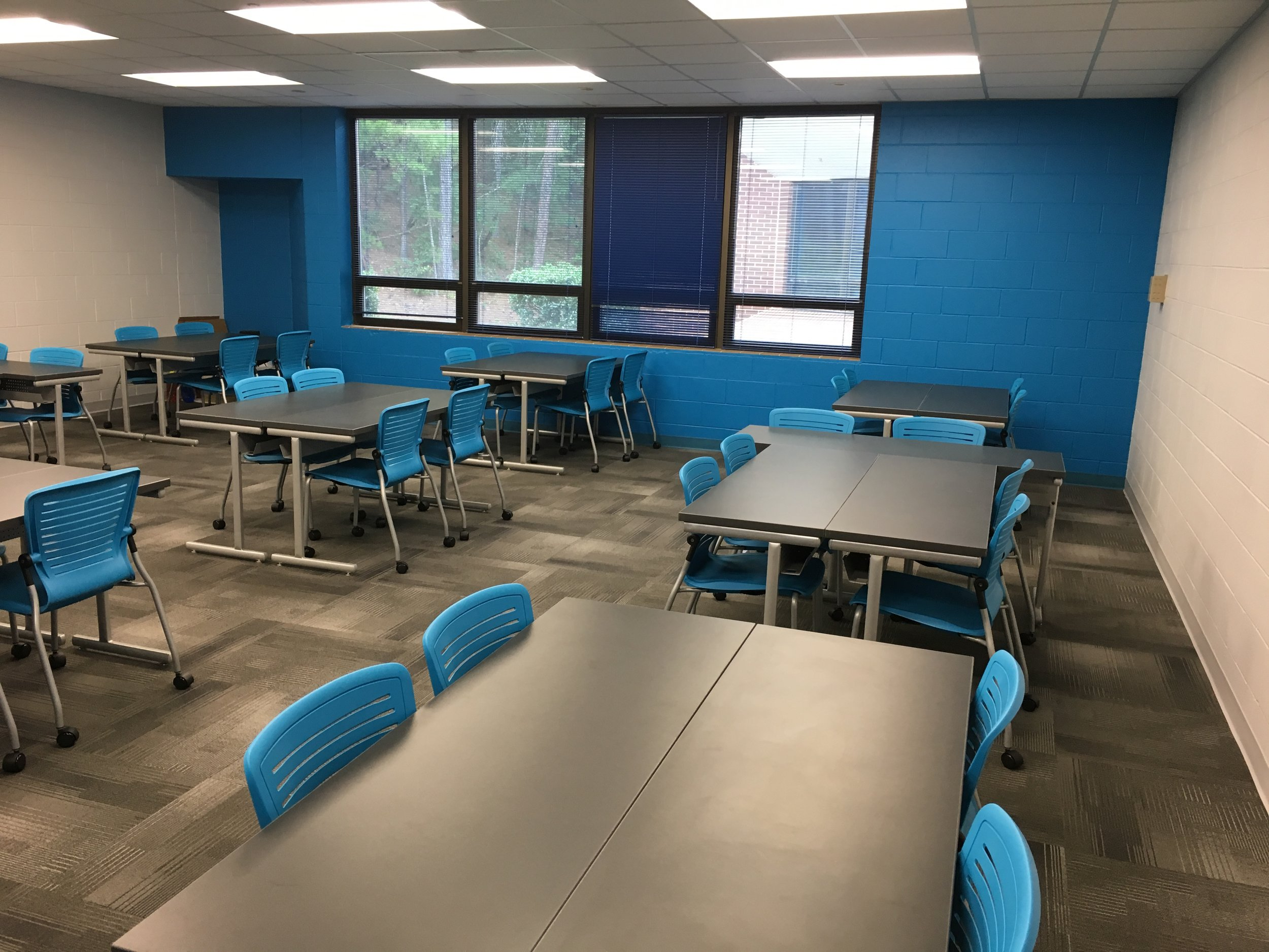 Jacksonville State University - Active Learning Table Install Pic 12.JPG