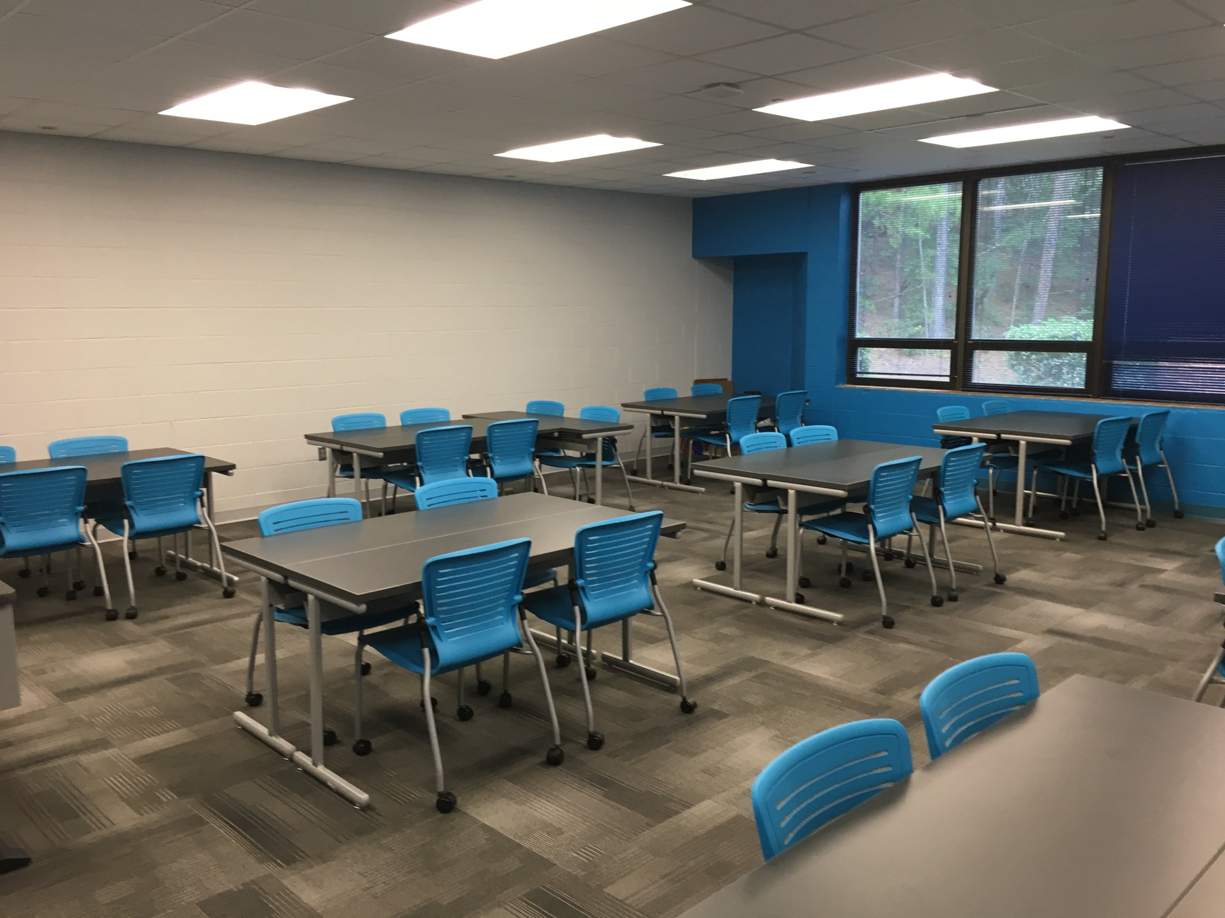 Jacksonville State University - Active Learning Table Install Pic 11.JPG