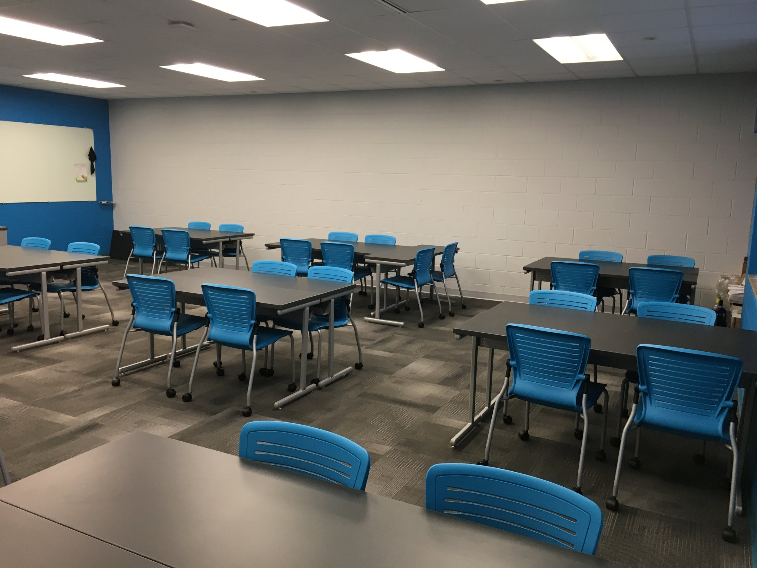 Jacksonville State University - Active Learning Table Install Pic 15.JPG