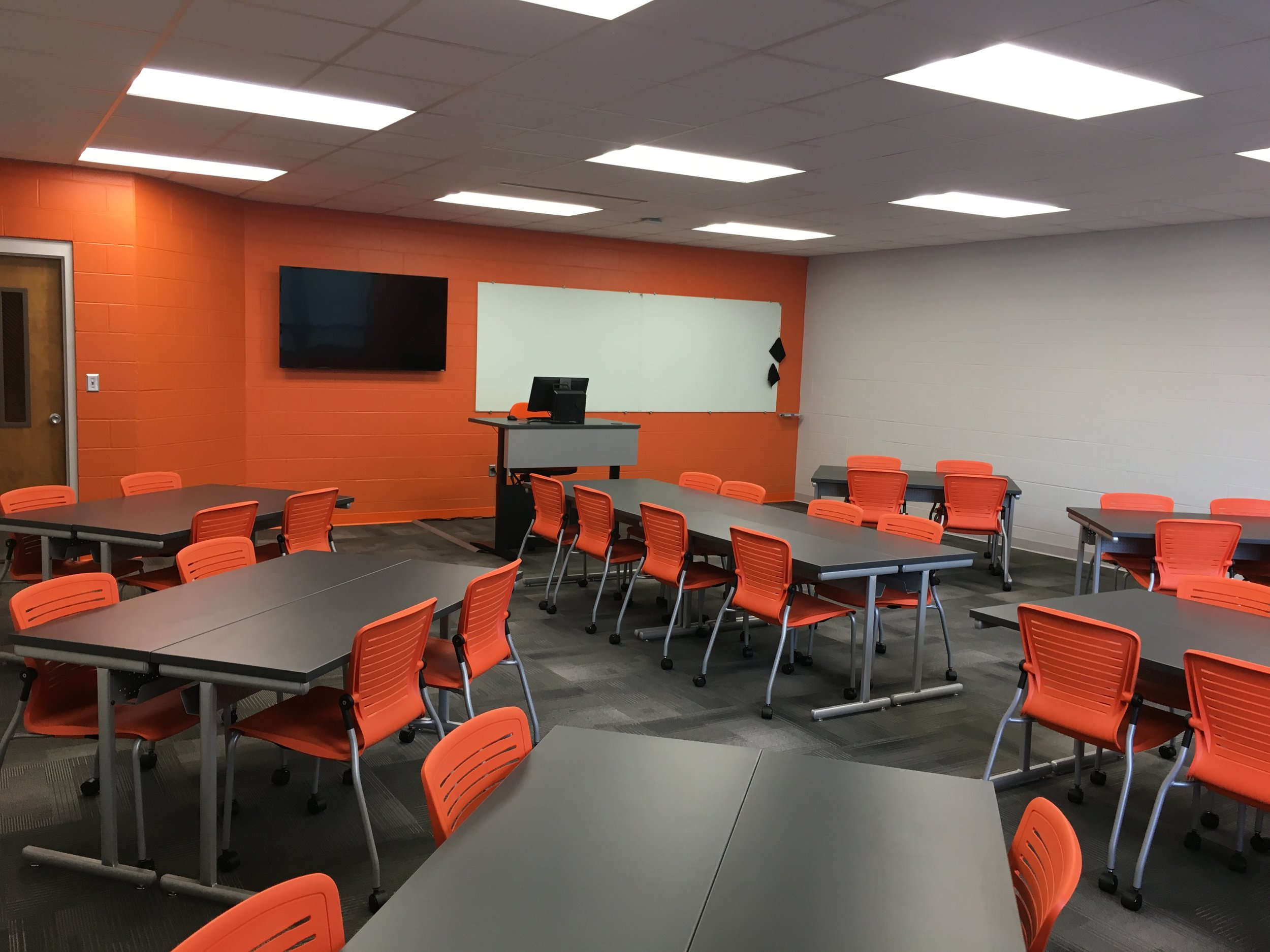 Jacksonville State University - Active Learning Table Install Pic 22.JPG