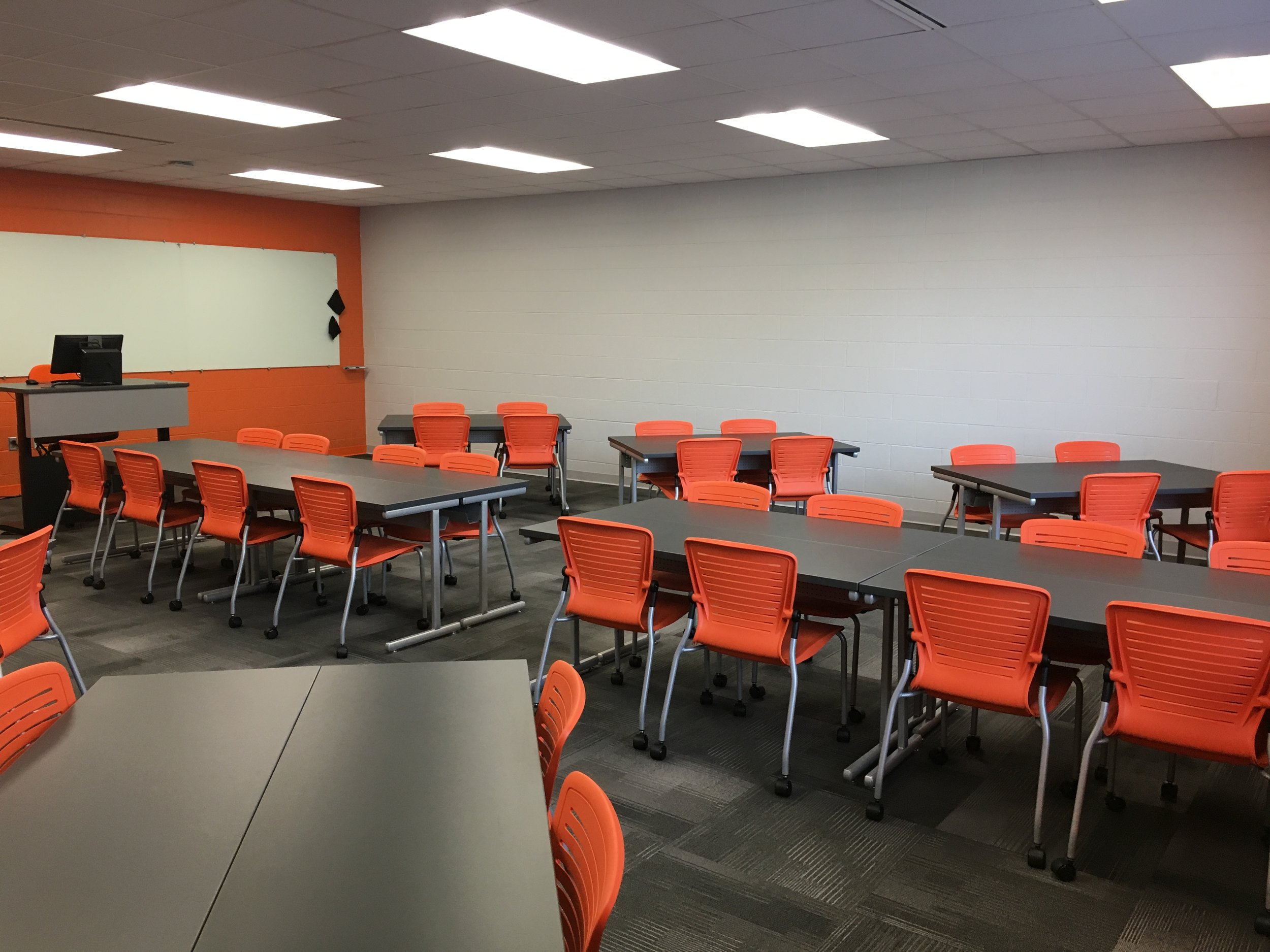 Jacksonville State University - Active Learning Table Install Pic 24.JPG