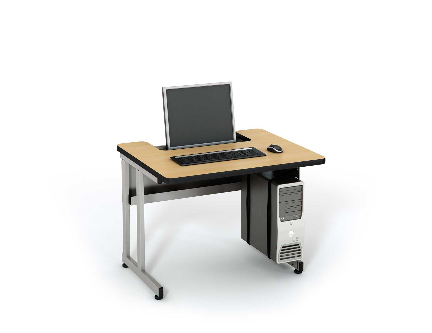 Recessed LCD - Student Table Series