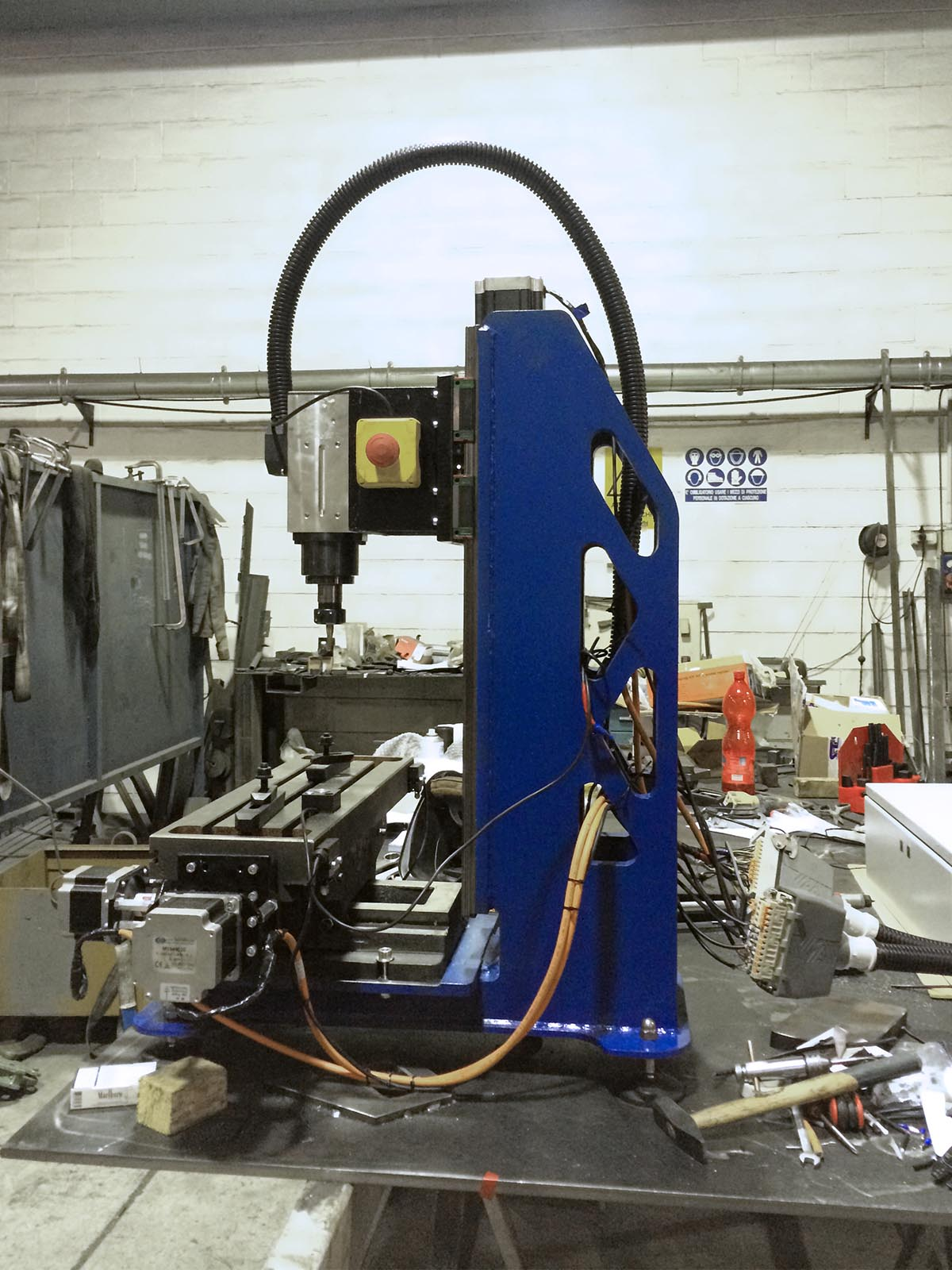 DIY CNC BUILD — ANDREA LOCATELLI