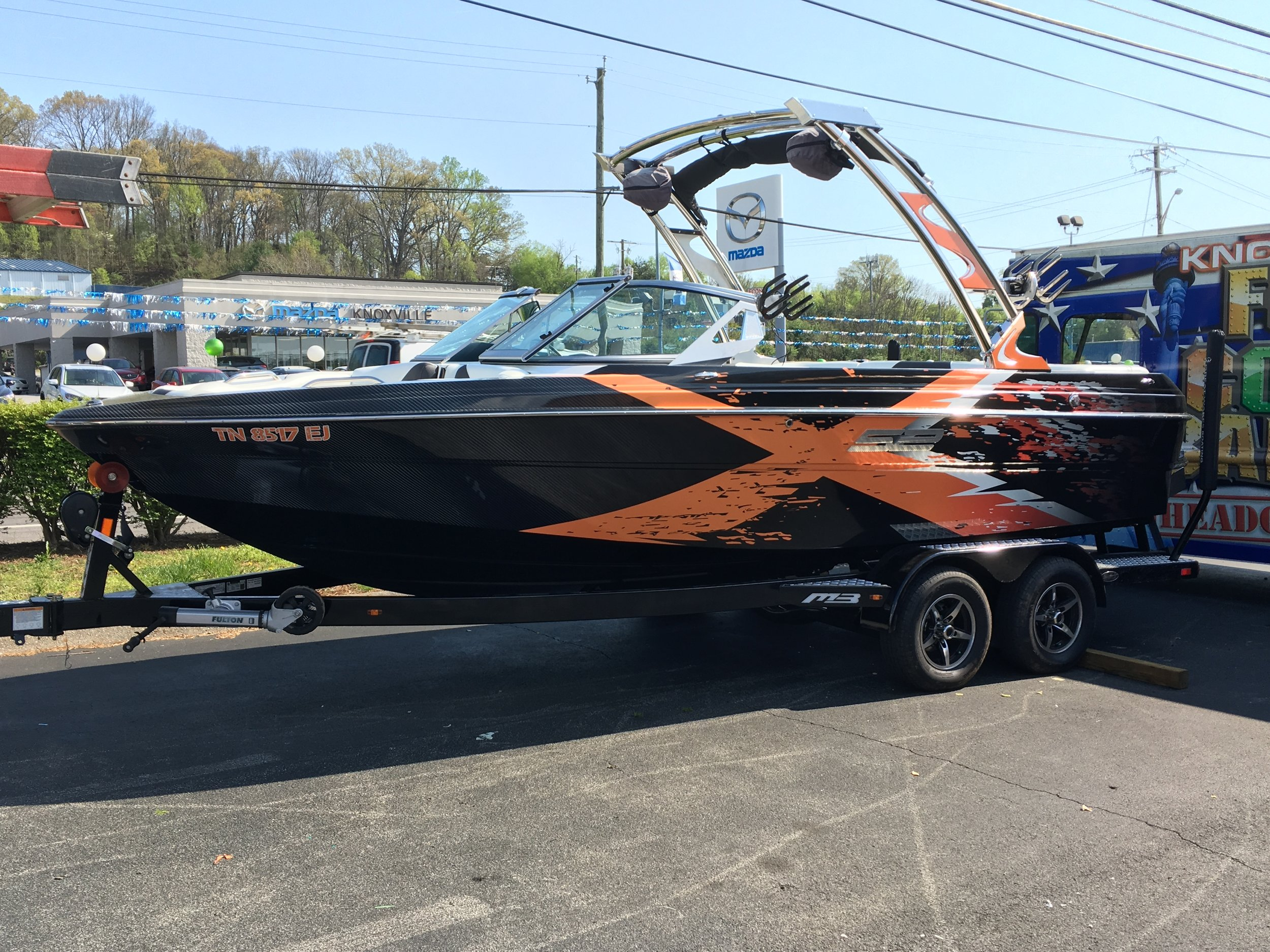X Boat Wrap