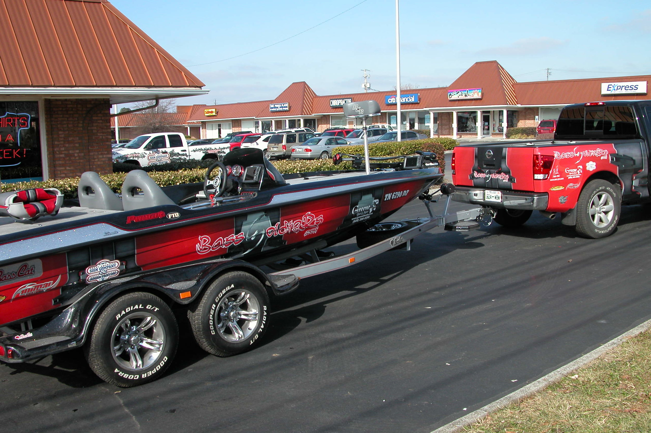Truck and Boat Wrap