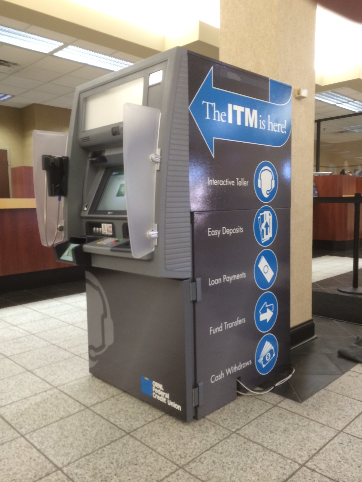 ATM Machine Wrap