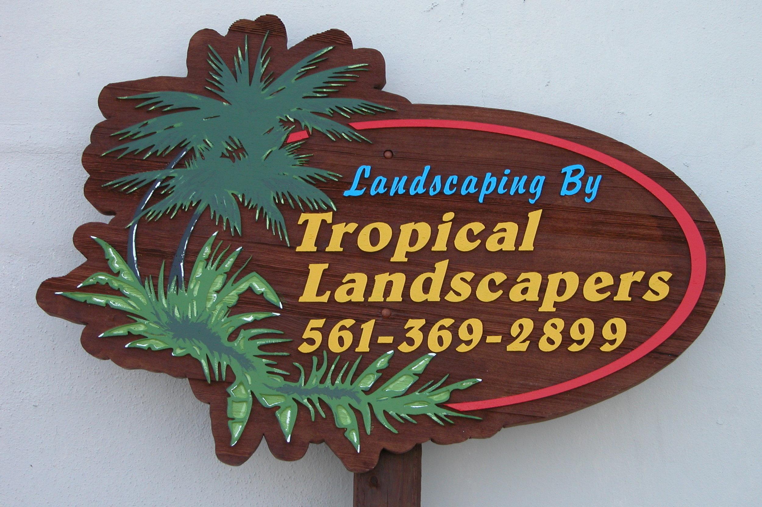 Shaped Sandblasted Sign