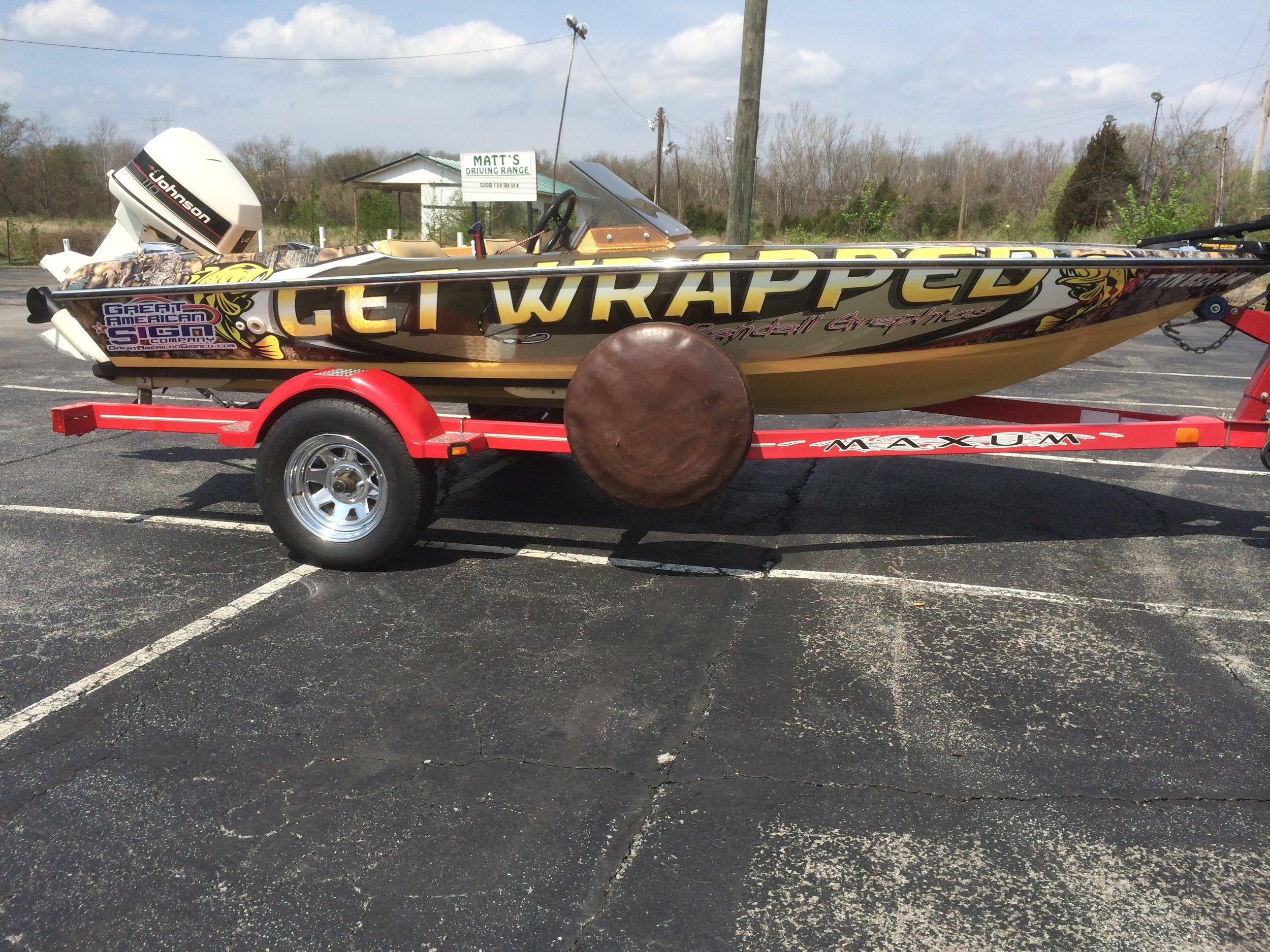 Boat Wrap Advertising
