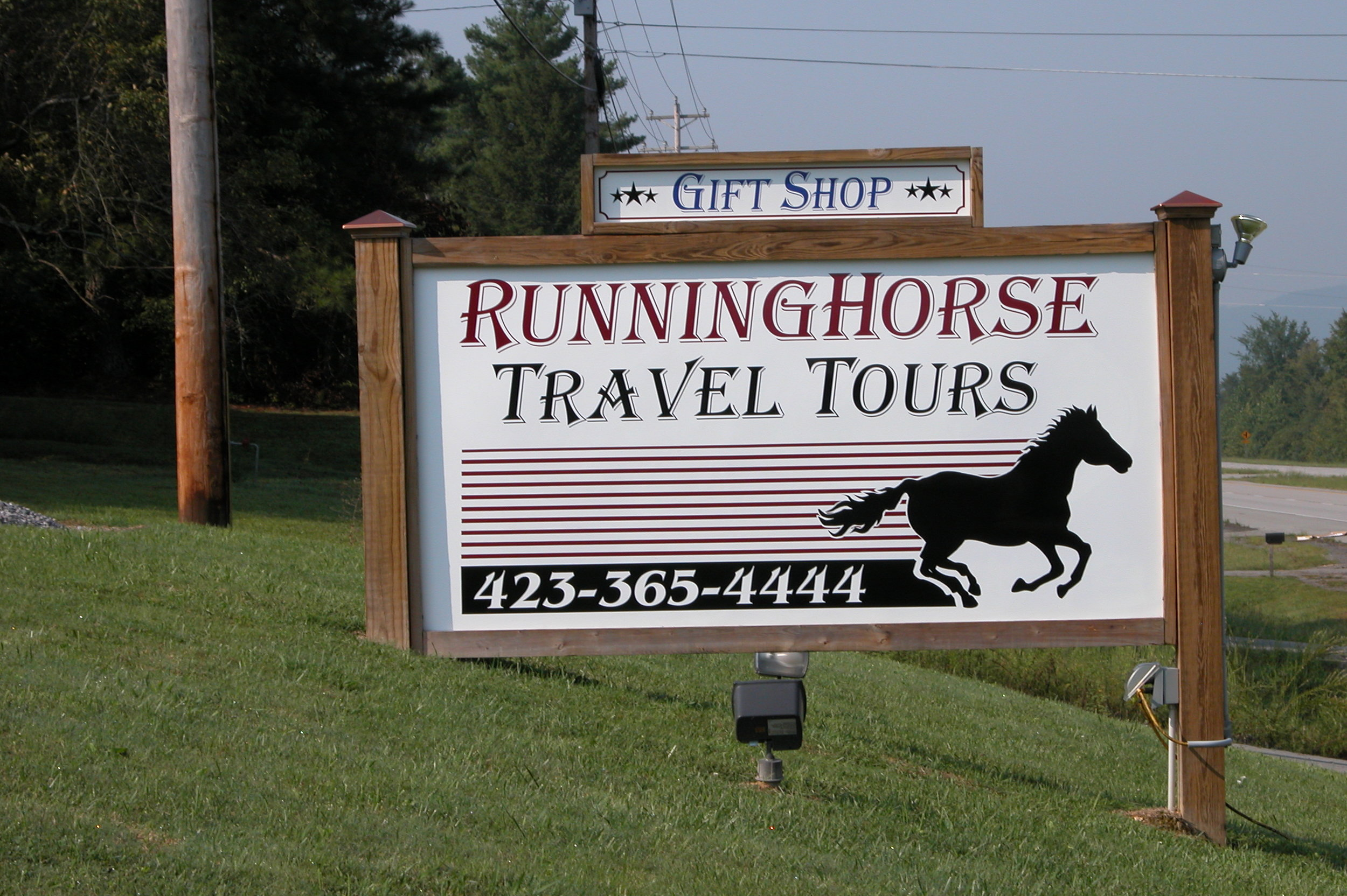 Large Site Sign