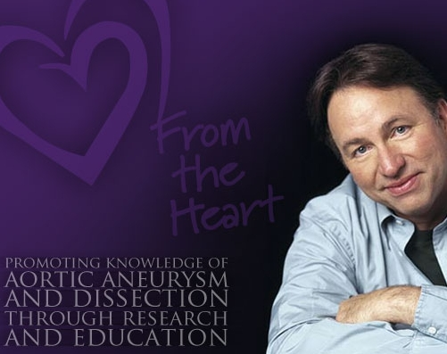 THE JOHN RITTER FOUNDATION FOR AORTIC HEALTH    This is a foundation near and close to my heart. My brother, Joseph passed away suddenly and unexpectedly due to Aortic Dissection. I continue to support the efforts, research and focus on awareness of this rare tragic disease, that affected my life and family.  Amy Yasbek,  (wife of actor John Ritter)  founded The John Ritter Foundation  (just weeks after John's sudden death due to an acute aortic dissection)  for the purpose of receiving donations in honor of John's life, the foundation is focused on thoracic aortic disease education, support, and research.