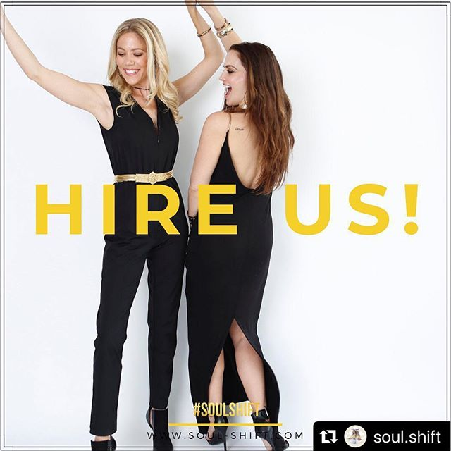 Friends and Colleagues....#SOULSHIFTers for Hire!!! We are excited to announce our #soulservices !!! Want to connect to your friends, family, employees or coworkers on a #SOULevel?We can help!Hire us for your next event...… —- •Have a #SOULEBRATION to plan? Birthday Party? Shower?Event? Hire The #SOULSHIFTers to take your celebration to the next level, going from small talk to #SOULtalk, real connection and fun!✨🥳🎉🎈 —- •Want to TEAMBUILD...aka. #SOULBUILD for your next corporate event?We offer customized workshops tailored for your brand or company, to connect to your team on a deeper level and get to the #SOUL of your business! 📝📅🔑🌟 — HOW: Clink our email button on @soul.shift to find out more or email is by copy/pasting info@soul-shift.com!! We would LOVE to be at your next event or meeting! —- #hirethesoulshifters #soulshift #soulshifters #soulbuild #teambuild #party#soulebration #connect #soulsessions #losangeles #lifecoach #reikihealer #biofeedbackpractitioner #heal #service #changeyourlife #soulconnection — 📸by: @ajarinahitomi