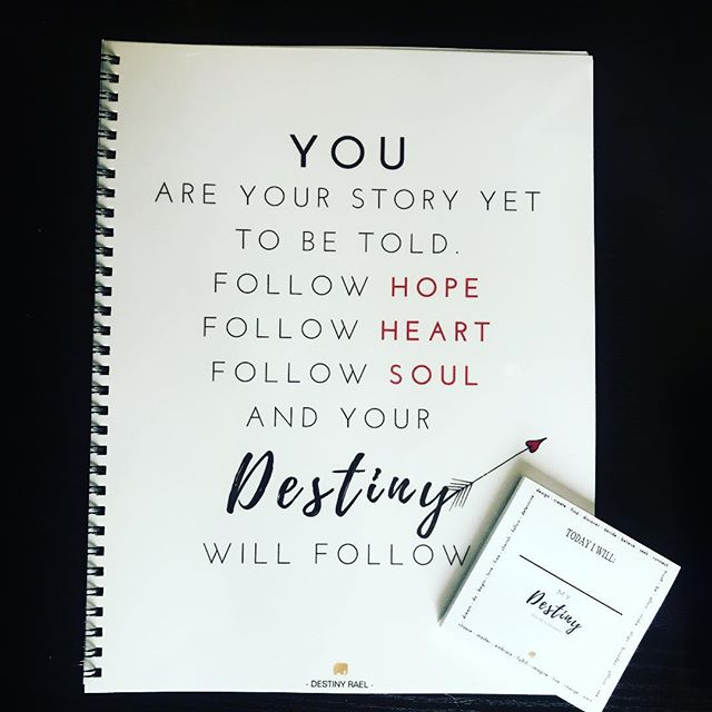 Hot off the press...DESTINY notebooks and post its!!! Tools to keep you on track with YOUR DESTINY!!! Now you're definitely going to want to work with me with these added bonuses! 😉 Lets work together! I can help you become your BEST self on your highest path of YOUR Destiny.... no matter WHAT stage of life you are in! :) 💜🙌🏼✨🙏🏼🔮📒 — #lifecoach #yourdestinyismydestiny #destiny #coaching #lifeguide #intuition #spiritualadvisor #destinydesigner #selfdevelopment #growth #growthmindset #change #transition #grief