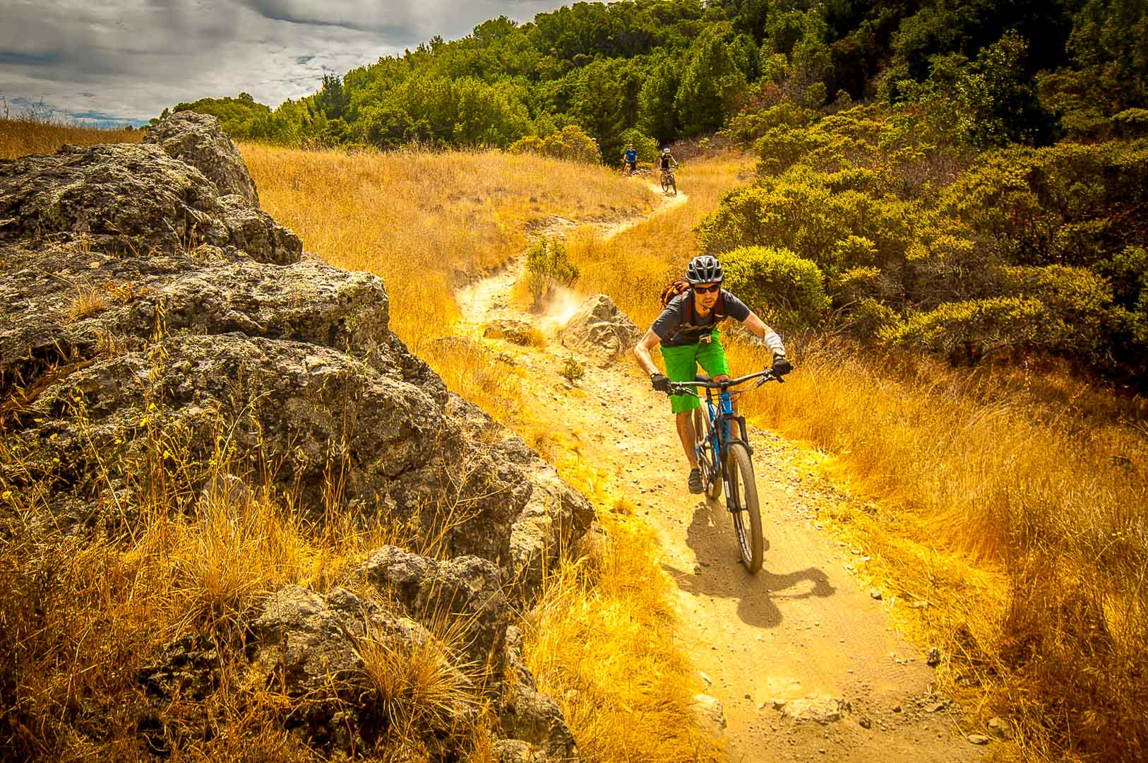 Hero Dirt guided tour Tamarancho Fairfax Marin mountain biking
