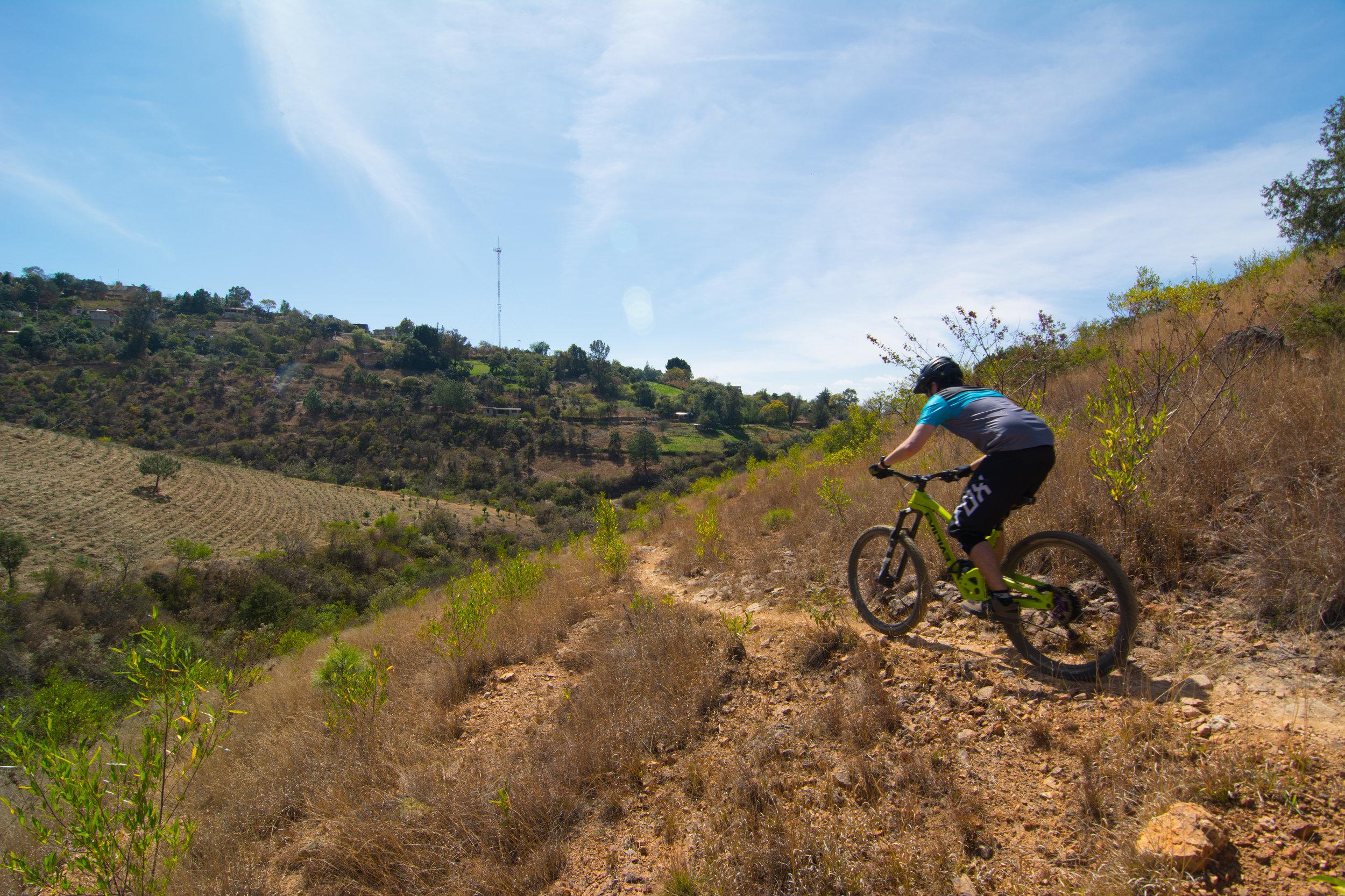 Etla, Mexico mountain bike enduro trails with shuttled rides