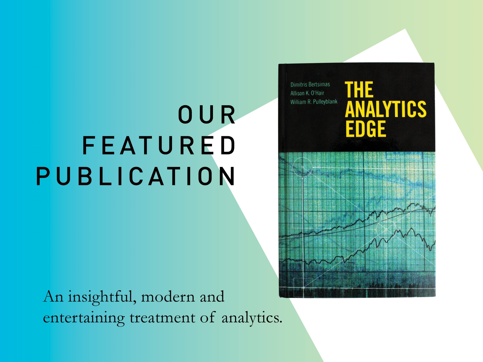Featured Publication: The Analytics Edge