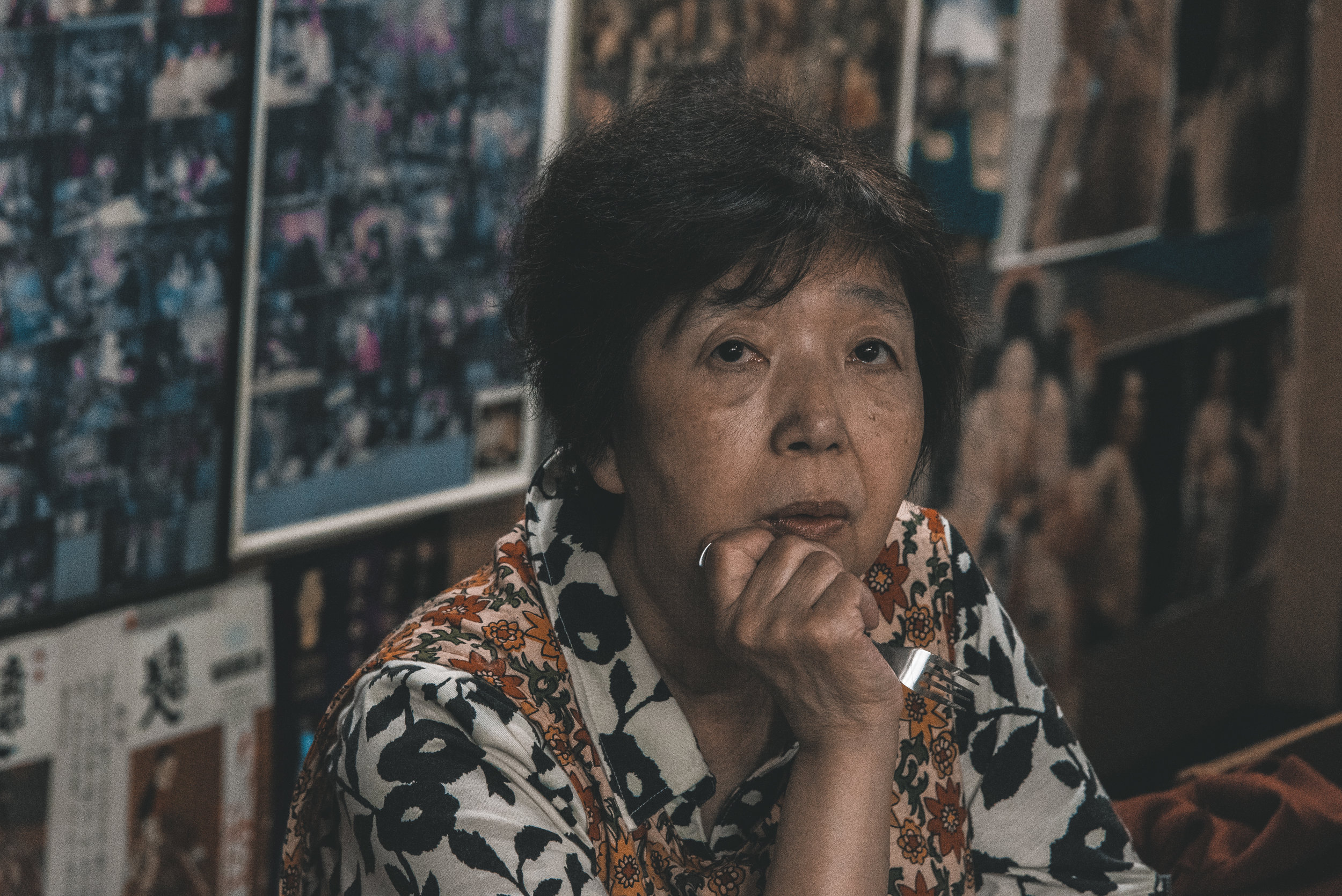 'Megumi was working at the hotel Ichikawa as an accountant back then. I saw her walking on the street one day and it was love at first sight. I was 21 and she was 17, we dated for a year and a half and got married in November 1975, then my father died in December. We had our first daughter Kotomi the following year and our second daughter Yayoi 3 years later.'