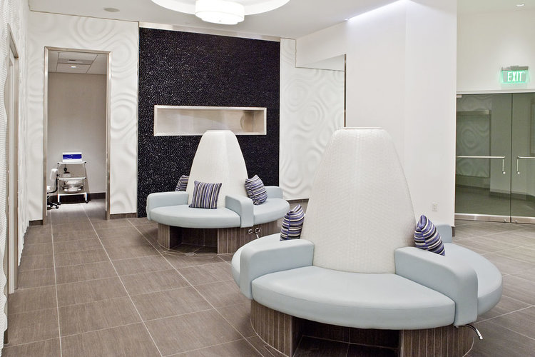 RELAX AND REJUVENATE  Self-indulgence abounds in the Escala Spa. Multiple treatment rooms are at the ready for the ultimate relaxation massage, or invite your friends to join you for a manicure or pedicure.