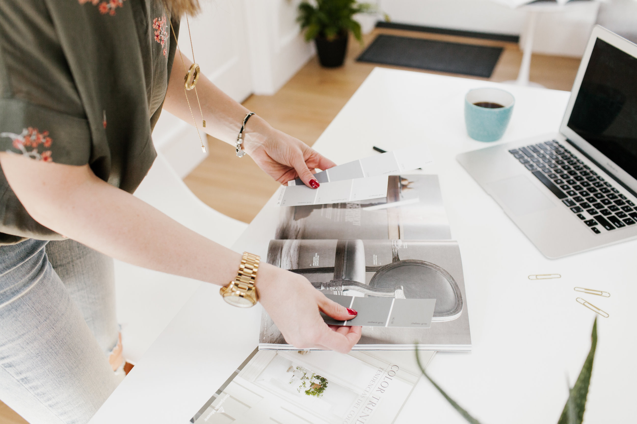 Designer's Brand Photography Shoot