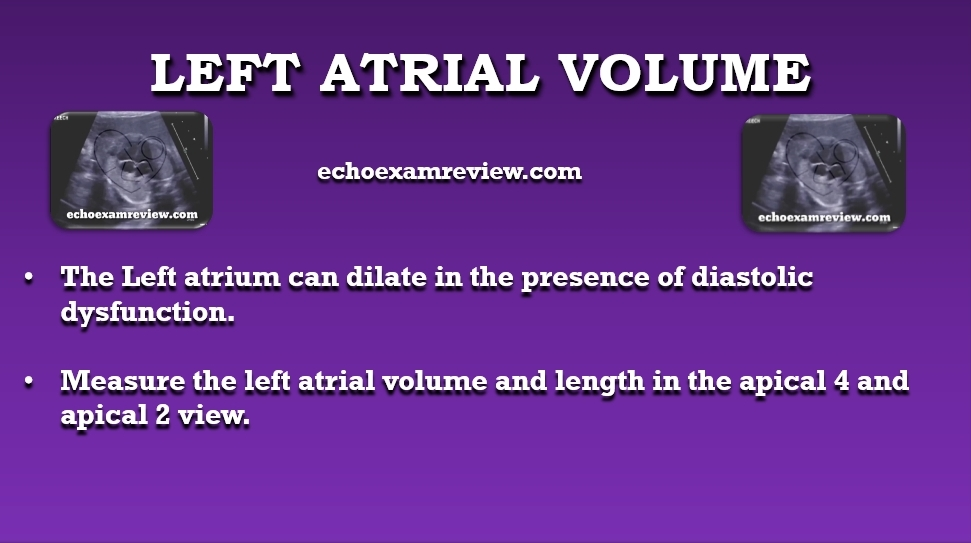 Left Atrial Volume and Size