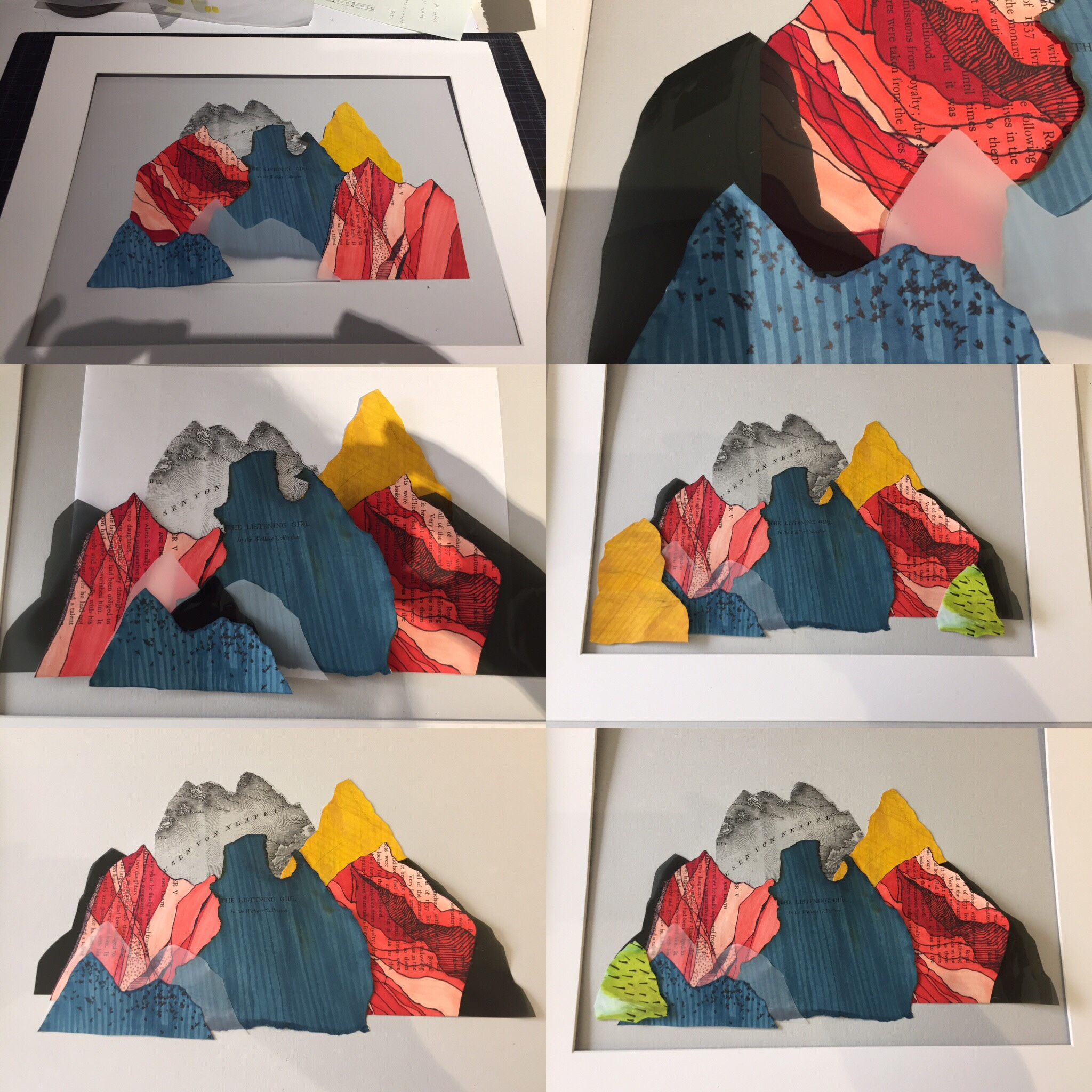 June 27/19 - Mountain collage commission