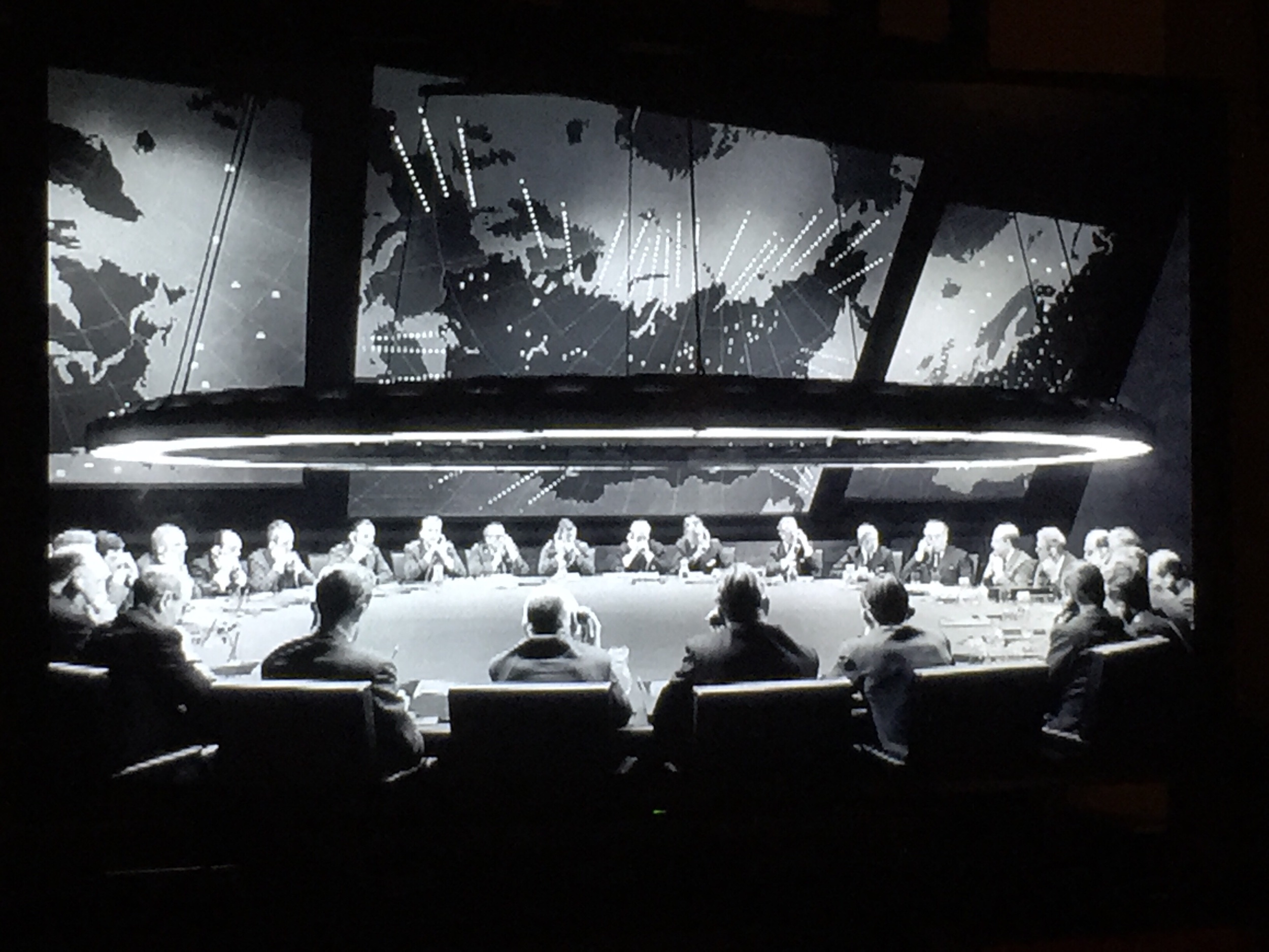 July 16/19 - Watched the incredible Dr. Strangelove. Fascinating after reading the stories by Ken Adam.