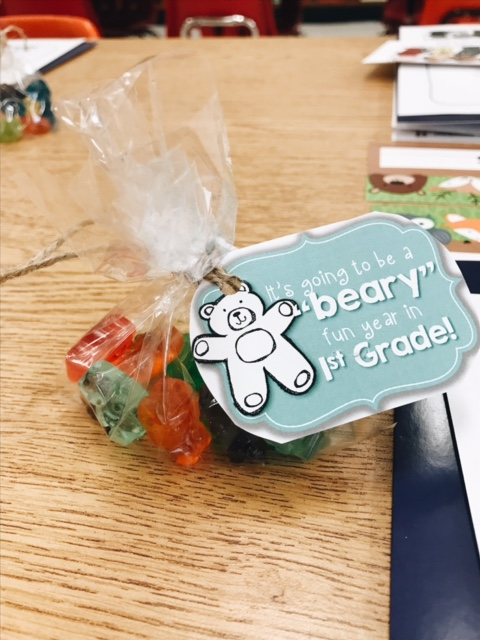 Thank you to  First Grader at Last  for the CUTE tags!!