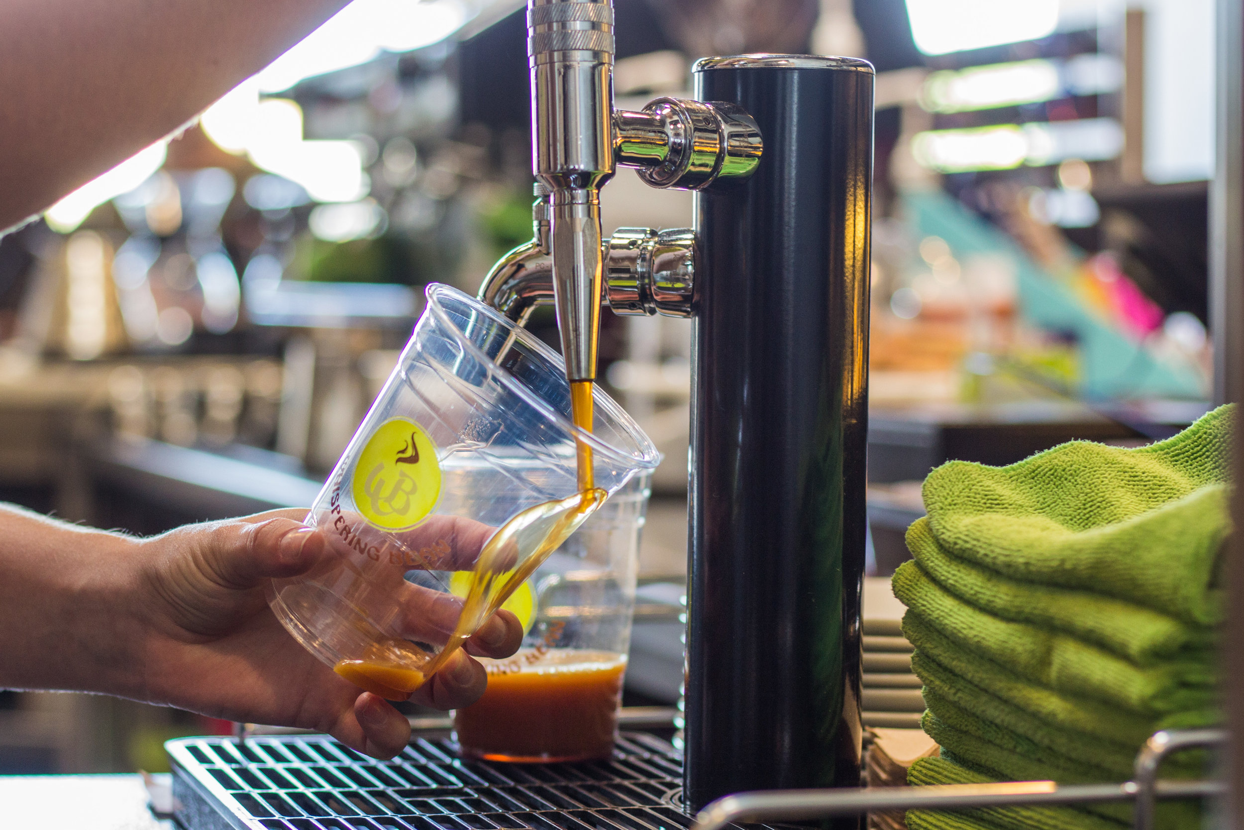 Drinks - A full line of espresso based drinks, pour-over, frozen drinks, cold brew and nitro brew make for a wide variety of coffee drinks.